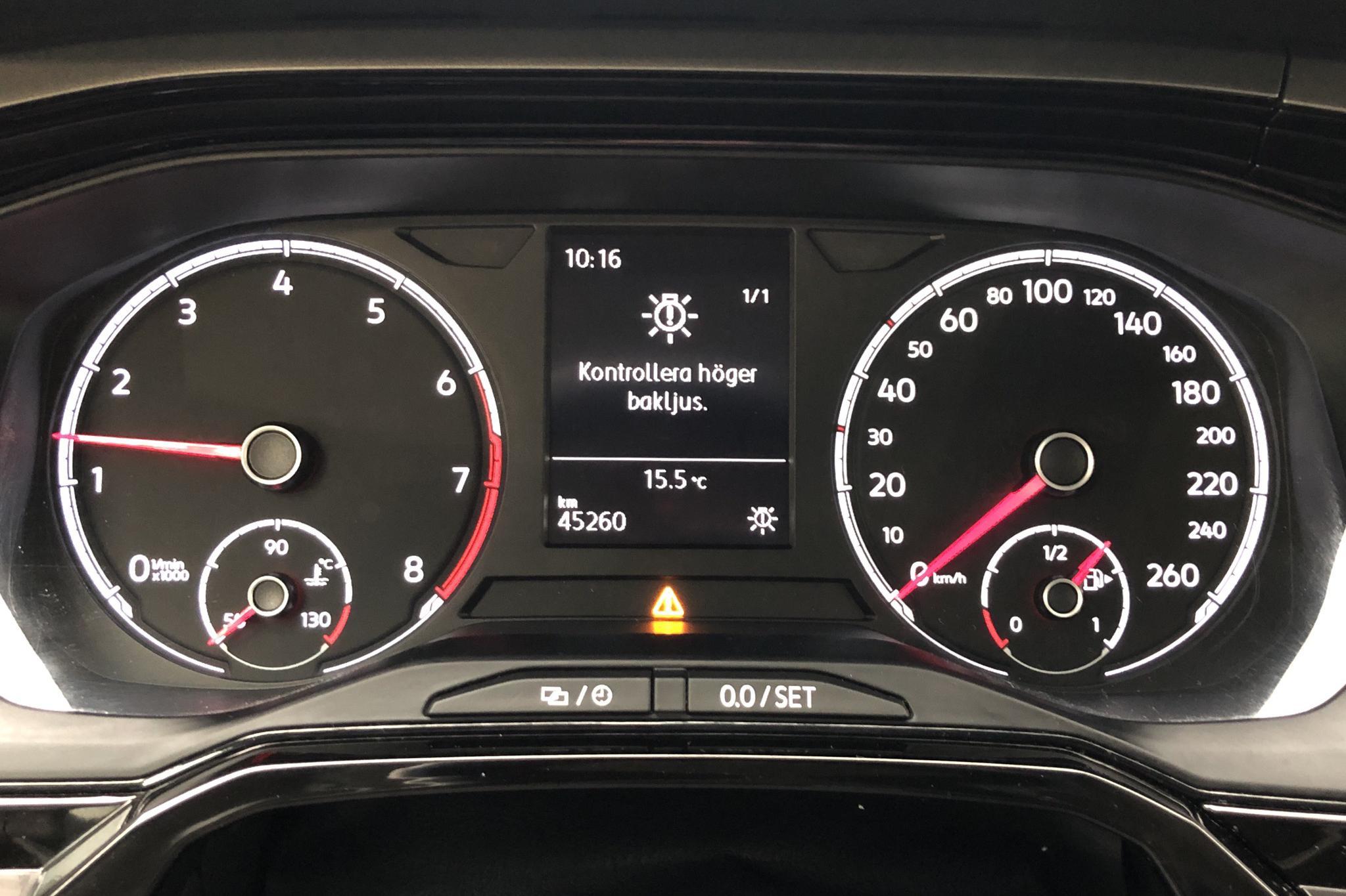 VW Polo 1.0 TSI 5dr (95hk) - 4 526 mil - Manuell - vit - 2019