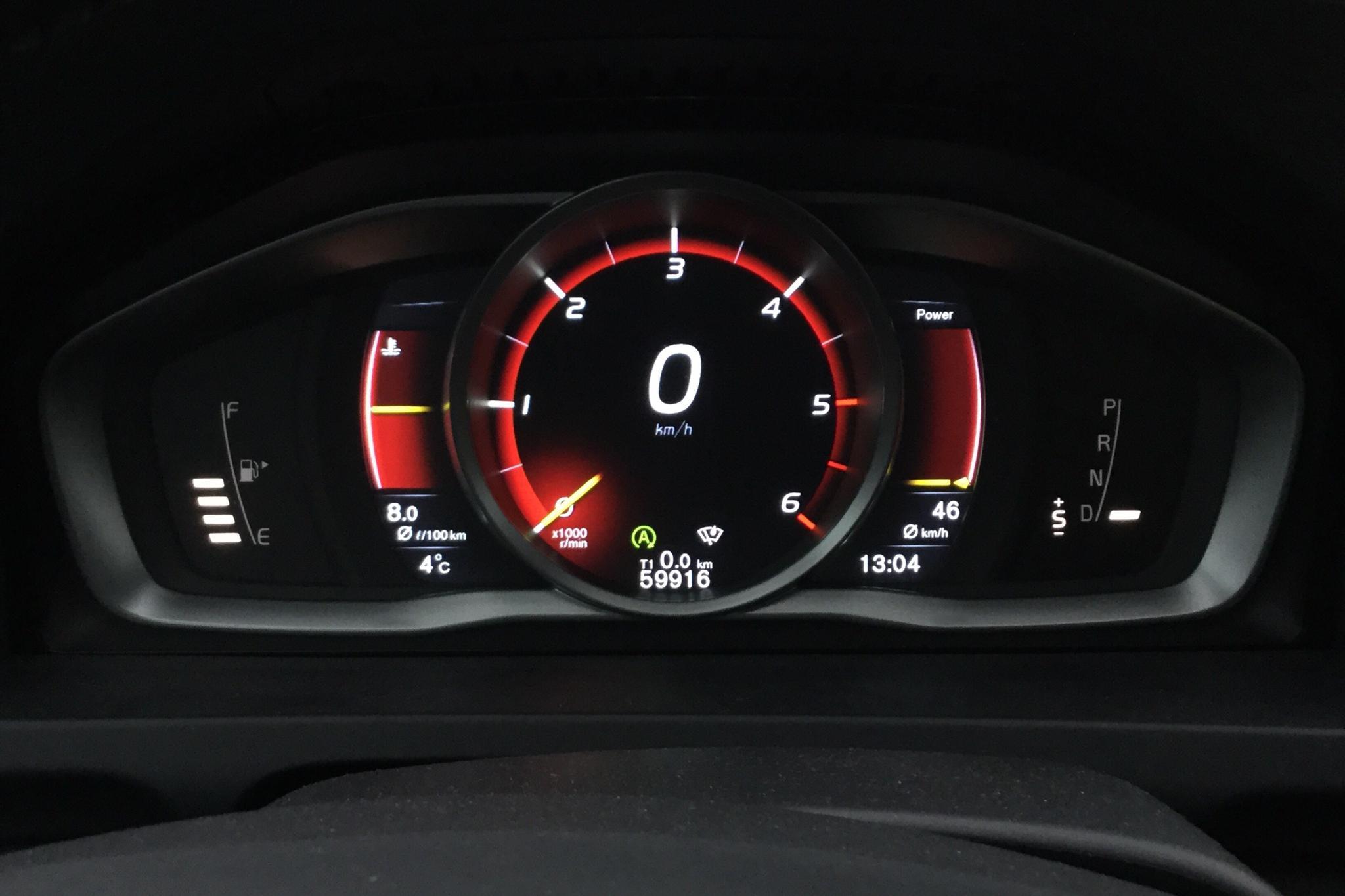 Volvo S60 D4 AWD (190hk) - 5 991 mil - Automat - svart - 2016