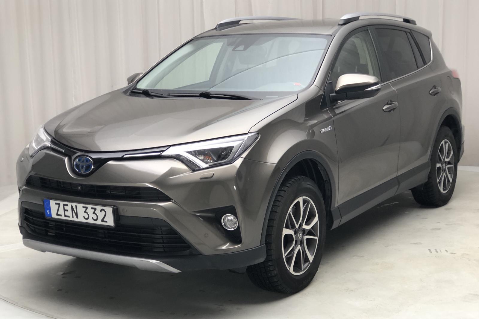 Toyota RAV4 2.5 HSD AWD (197hk) - 40 770 km - Automatic - brown - 2018