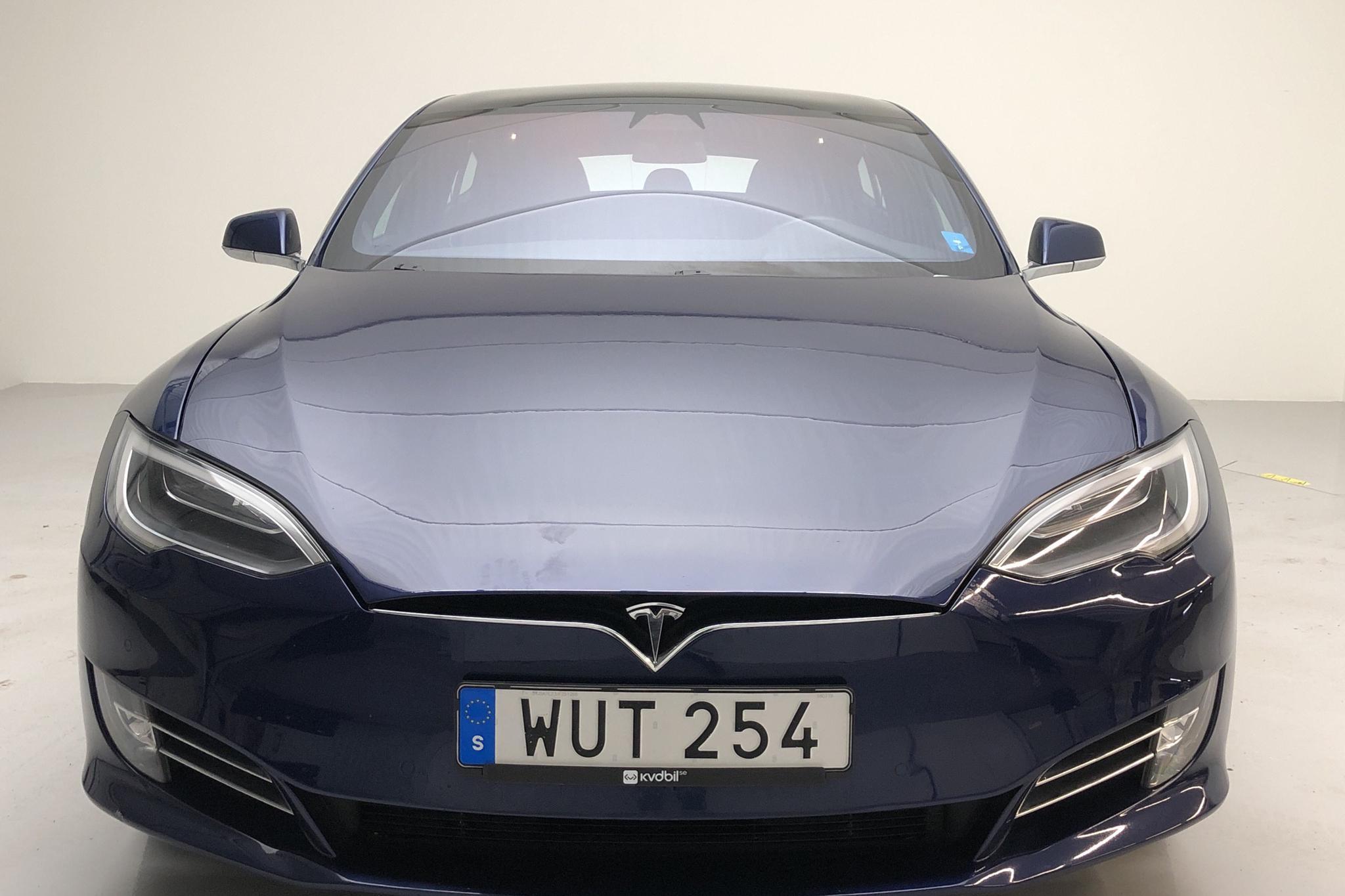 Tesla Model S 75D (525hk) - 3 819 mil - Automat - blå - 2018