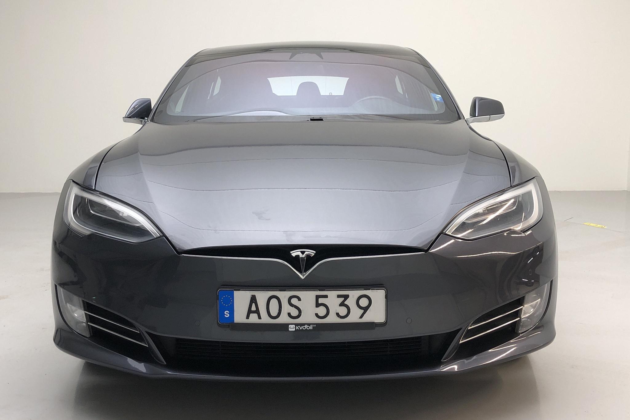 Tesla Model S 75D (525hk) - 6 187 mil - Automat - grå - 2018