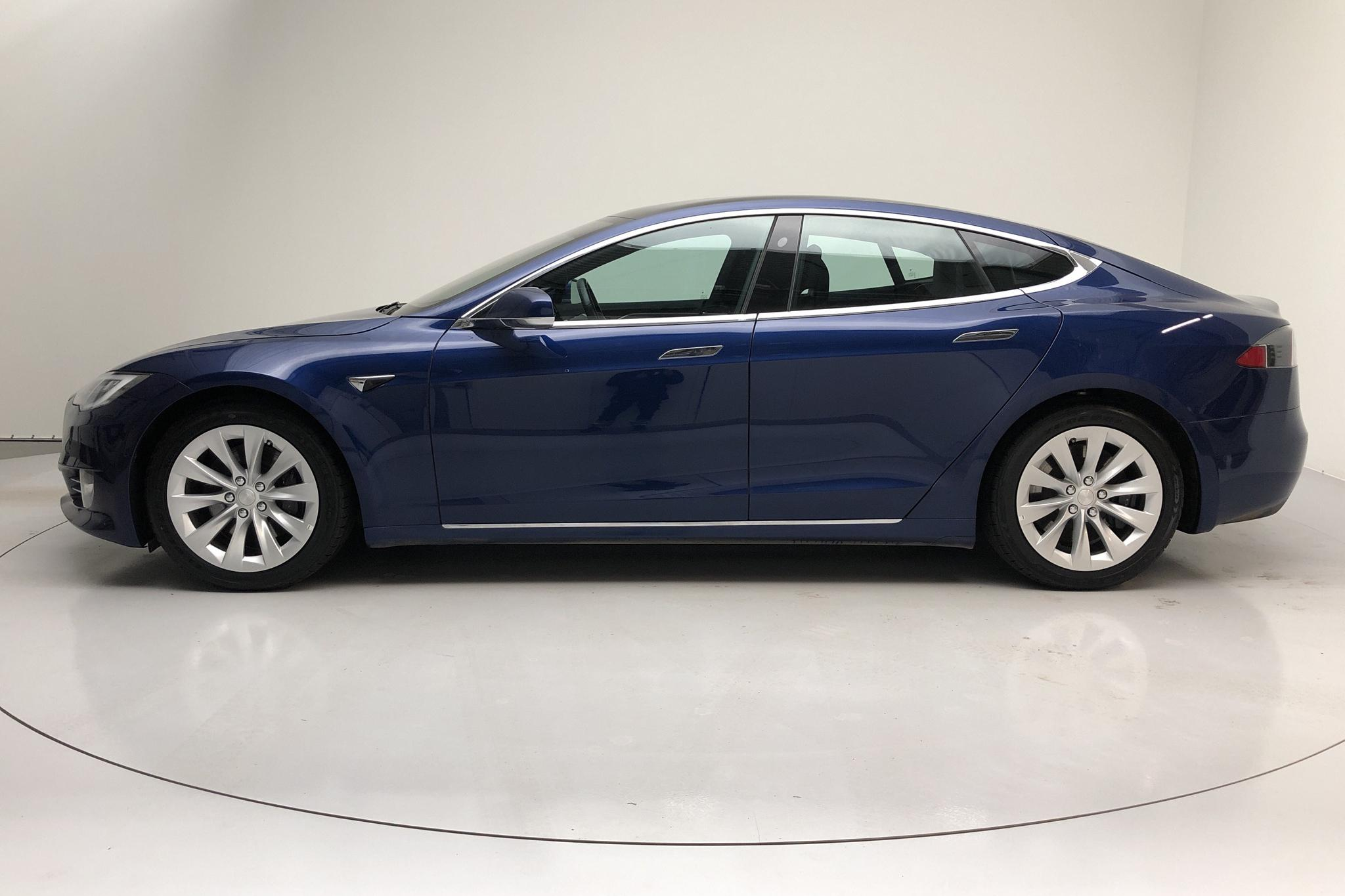 Tesla Model S 75D (525hk) - 61 340 km - Automatic - blue - 2018