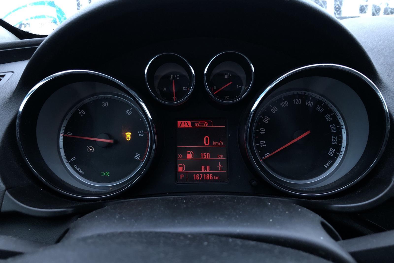 Opel Insignia 2.0 CDTI 4x4 5dr (160hk) - 167 180 km - Automatic - black - 2012