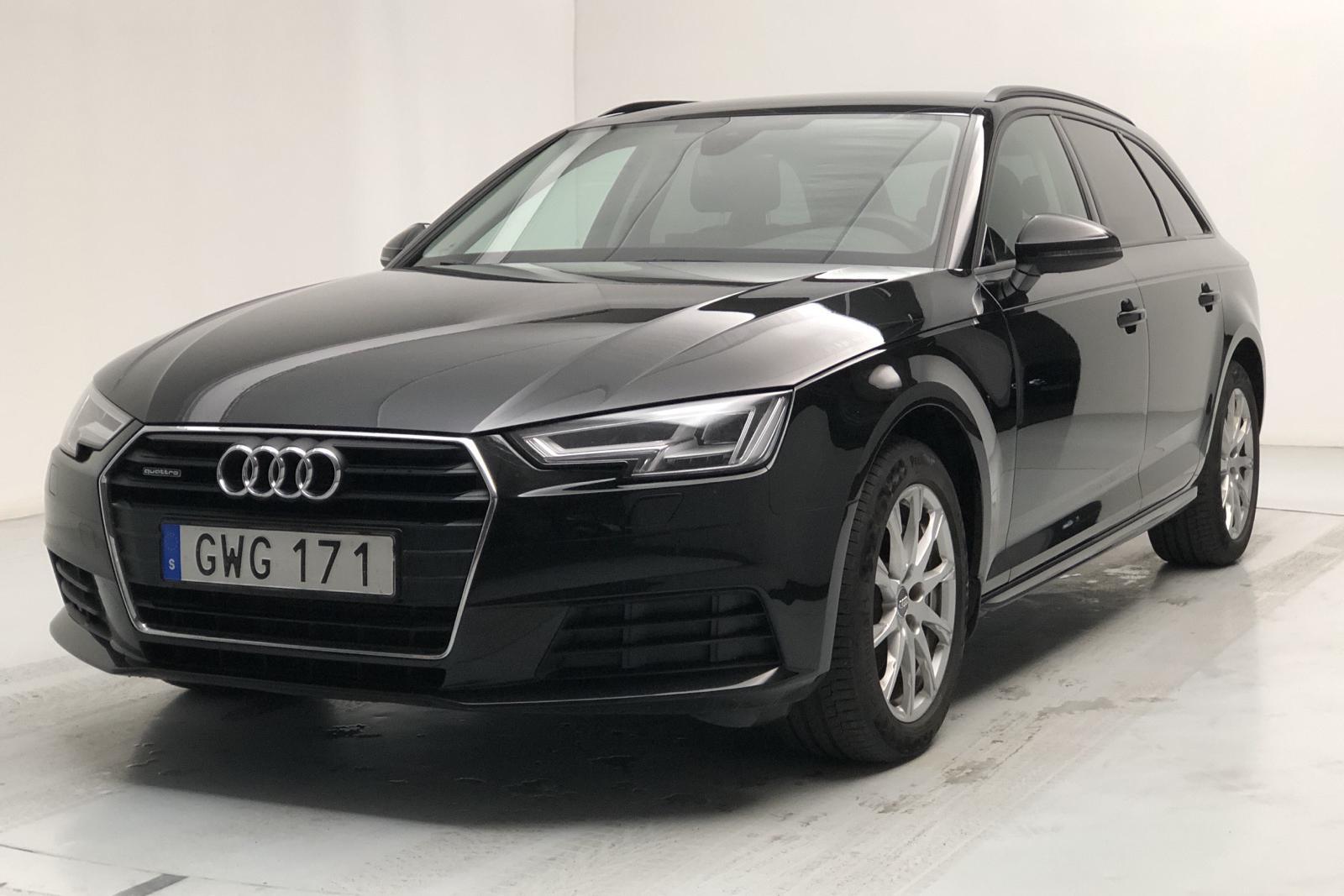 Audi A4 2.0 TDI Avant quattro (190hk) - 9 749 mil - Automat - svart - 2018