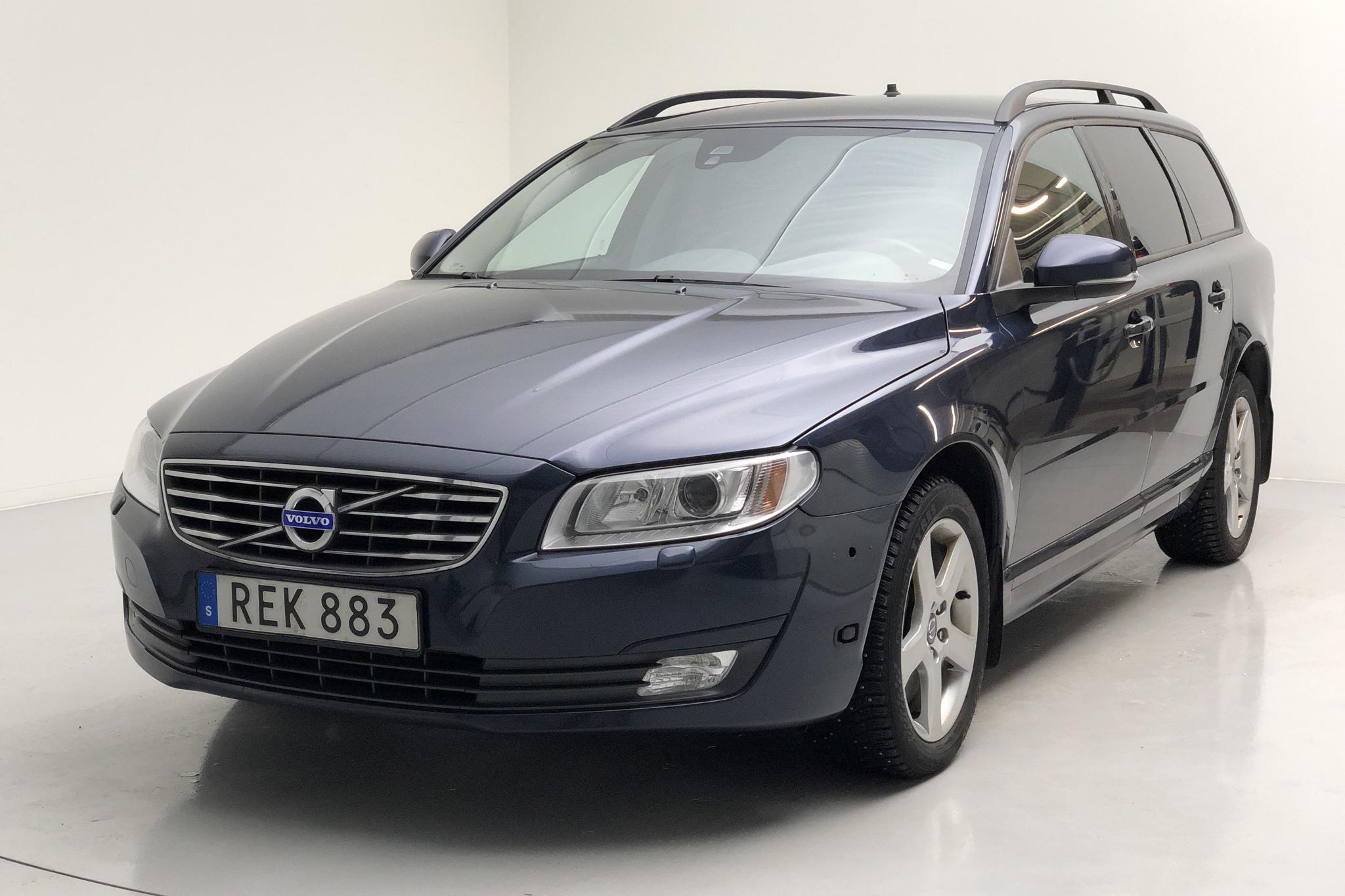 Volvo V70 II T4F (180hk) - 112 390 km - Automatic - Dark Blue - 2015