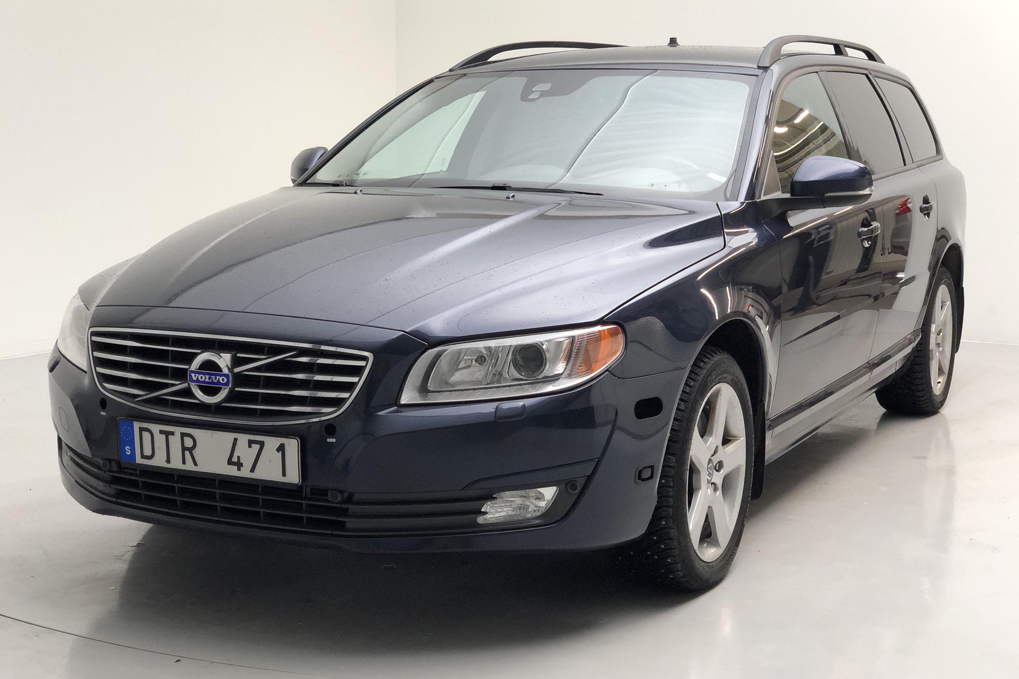 Volvo V70 II T4F (180hk) - 98 590 km - Automatic - Dark Blue - 2014