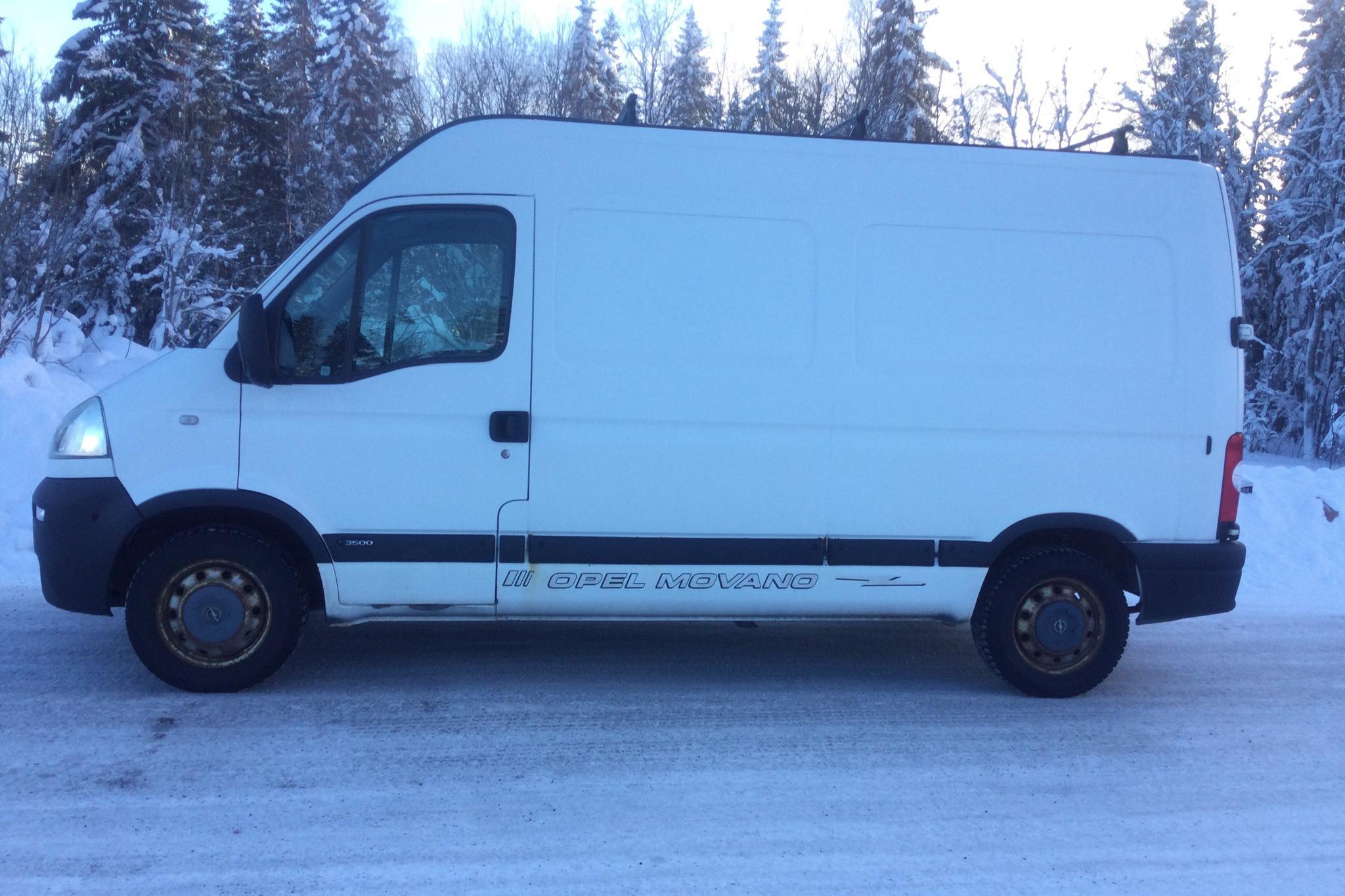 Opel Movano 2.5 CDTI Skåp (115hk) - 140 830 km - Manual - white - 2005