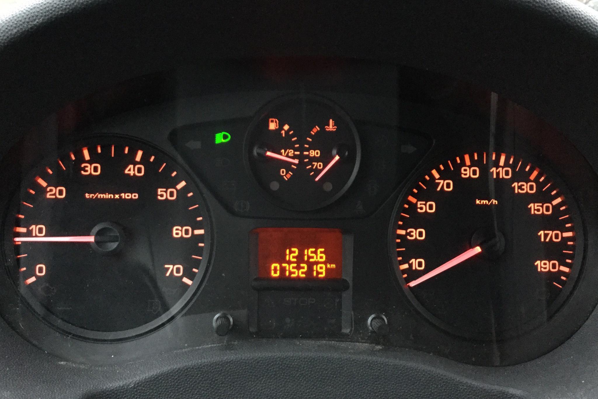 Fiat Scudo 2.0 MJT (130hk) - 7 521 mil - Manuell - svart - 2014