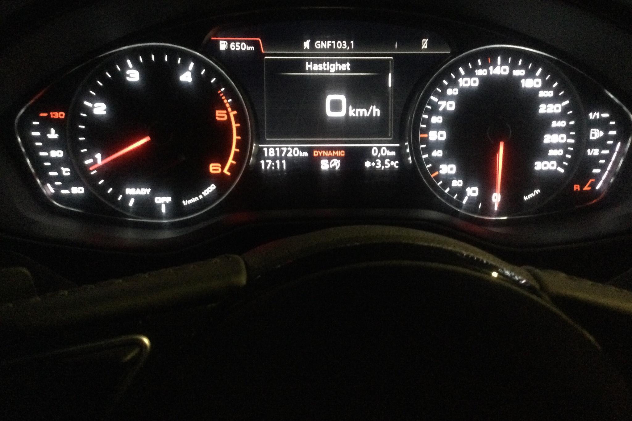 Audi A4 2.0 TDI Avant quattro (190hk) - 18 172 mil - Automat - svart - 2017