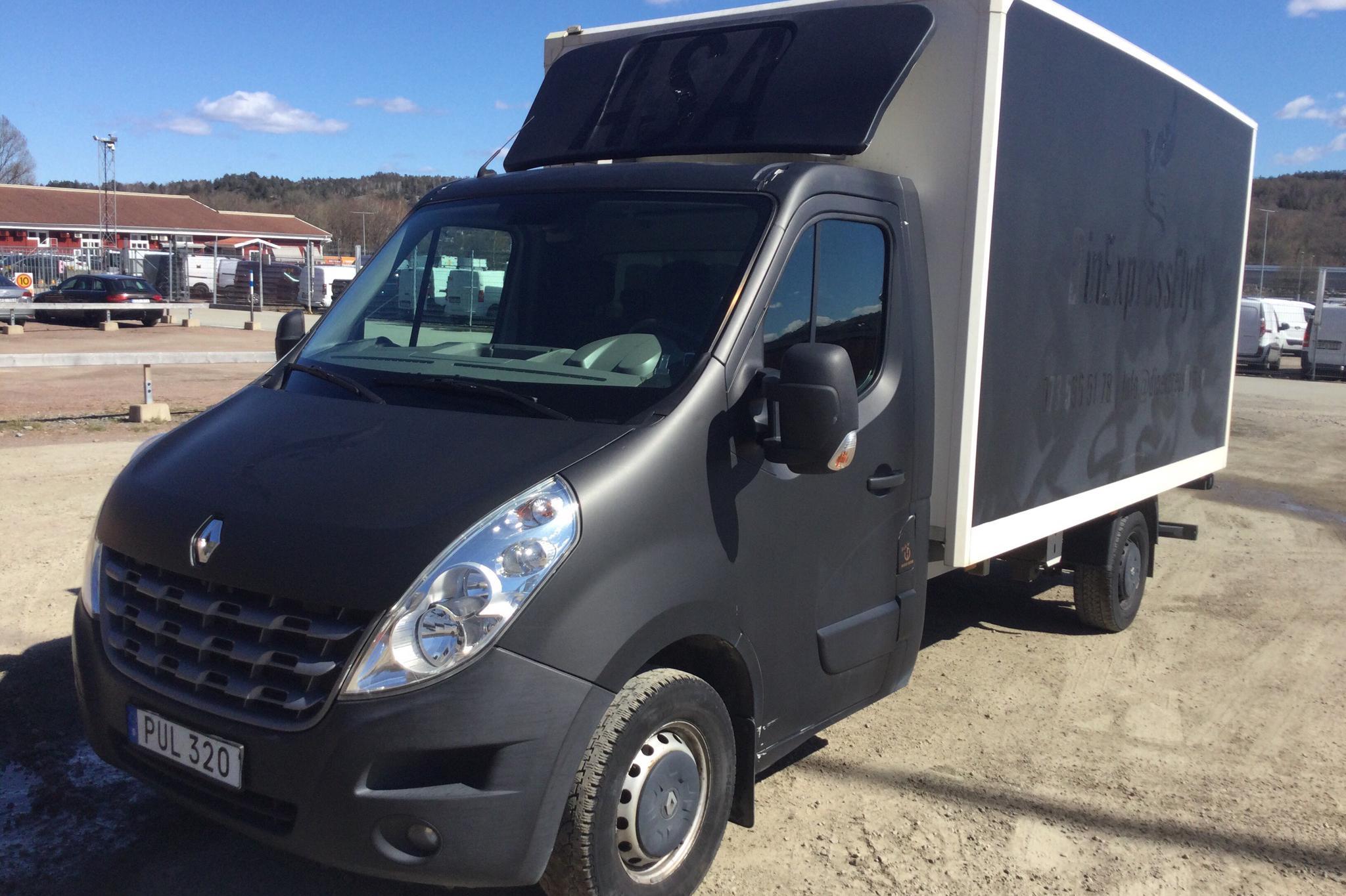 Renault Master 2.3 dCi Volymskåp 2WD (150hk) - 124 090 km - Automatic - 2014