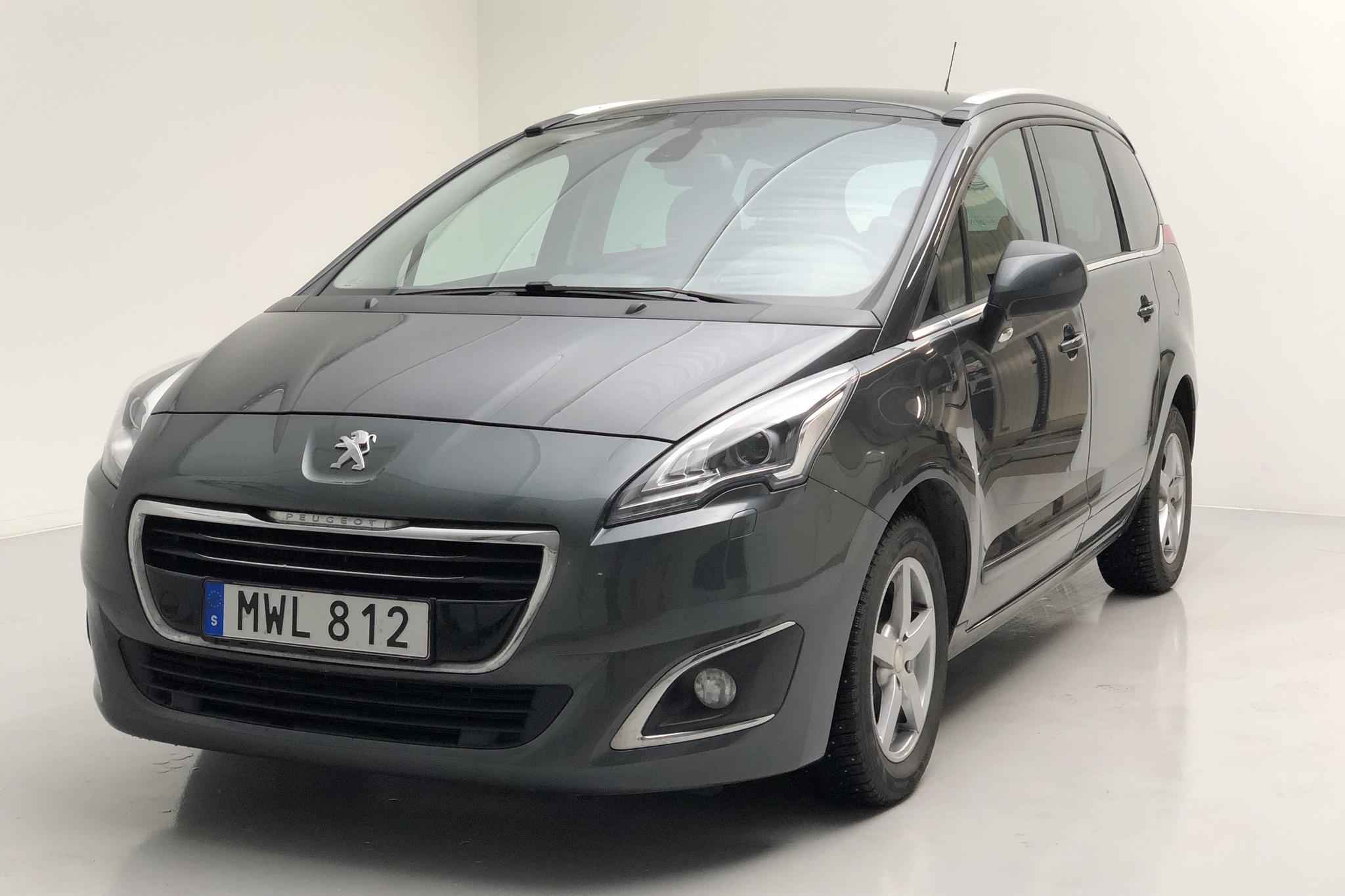Peugeot 5008 BlueHDi (120hk) - 12 072 mil - Automat - Dark Grey - 2016