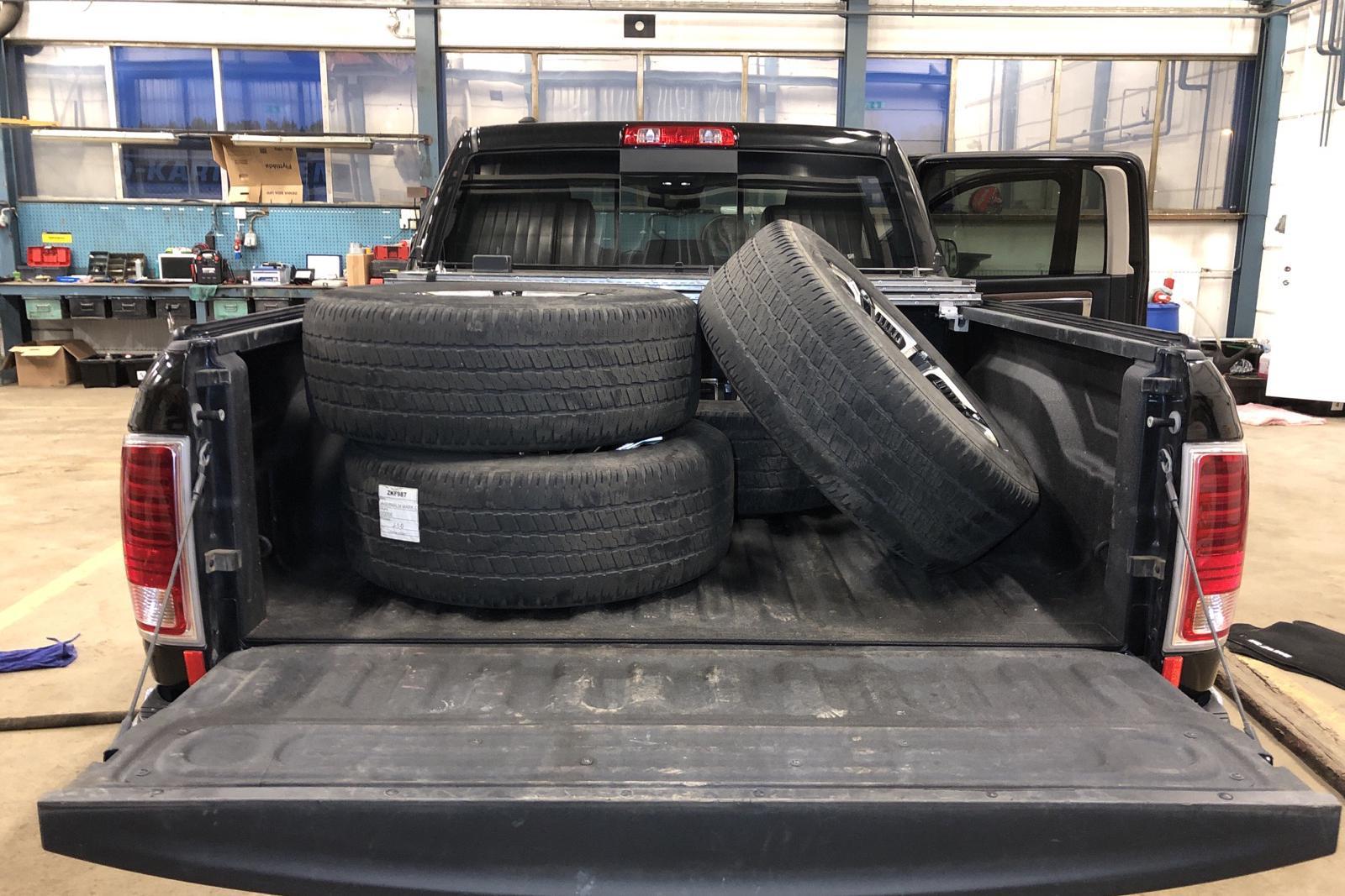 Dodge RAM 1500 3.0 4WD (243hk) - 60 750 km - Automatic - black - 2017