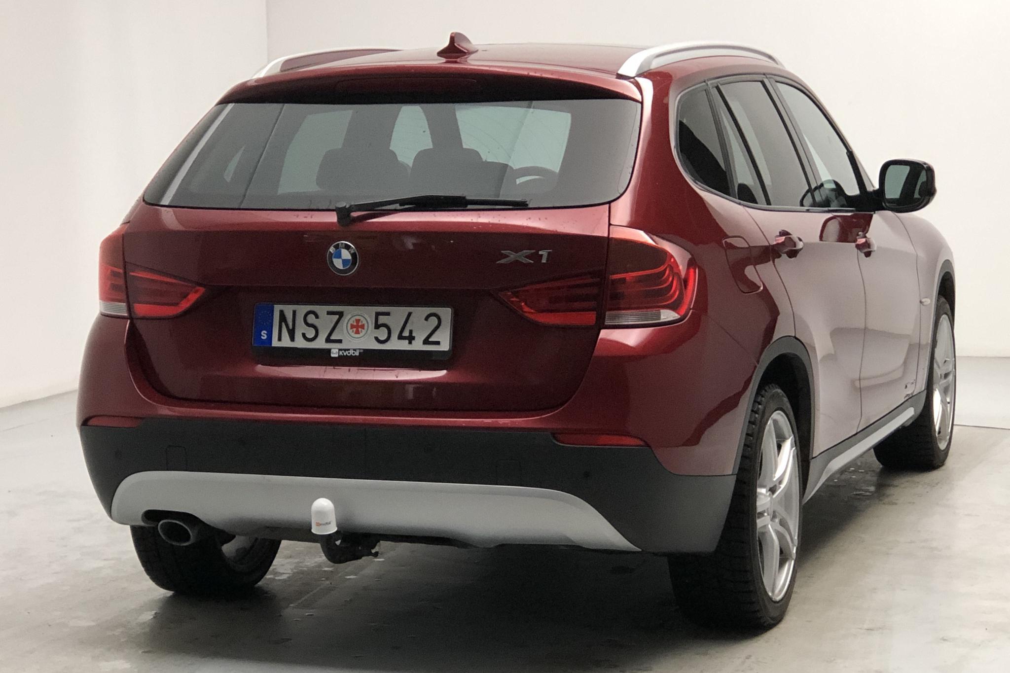 BMW X1 xDrive23d, E84 (204hk) - 89 550 km - Automatic - red - 2011
