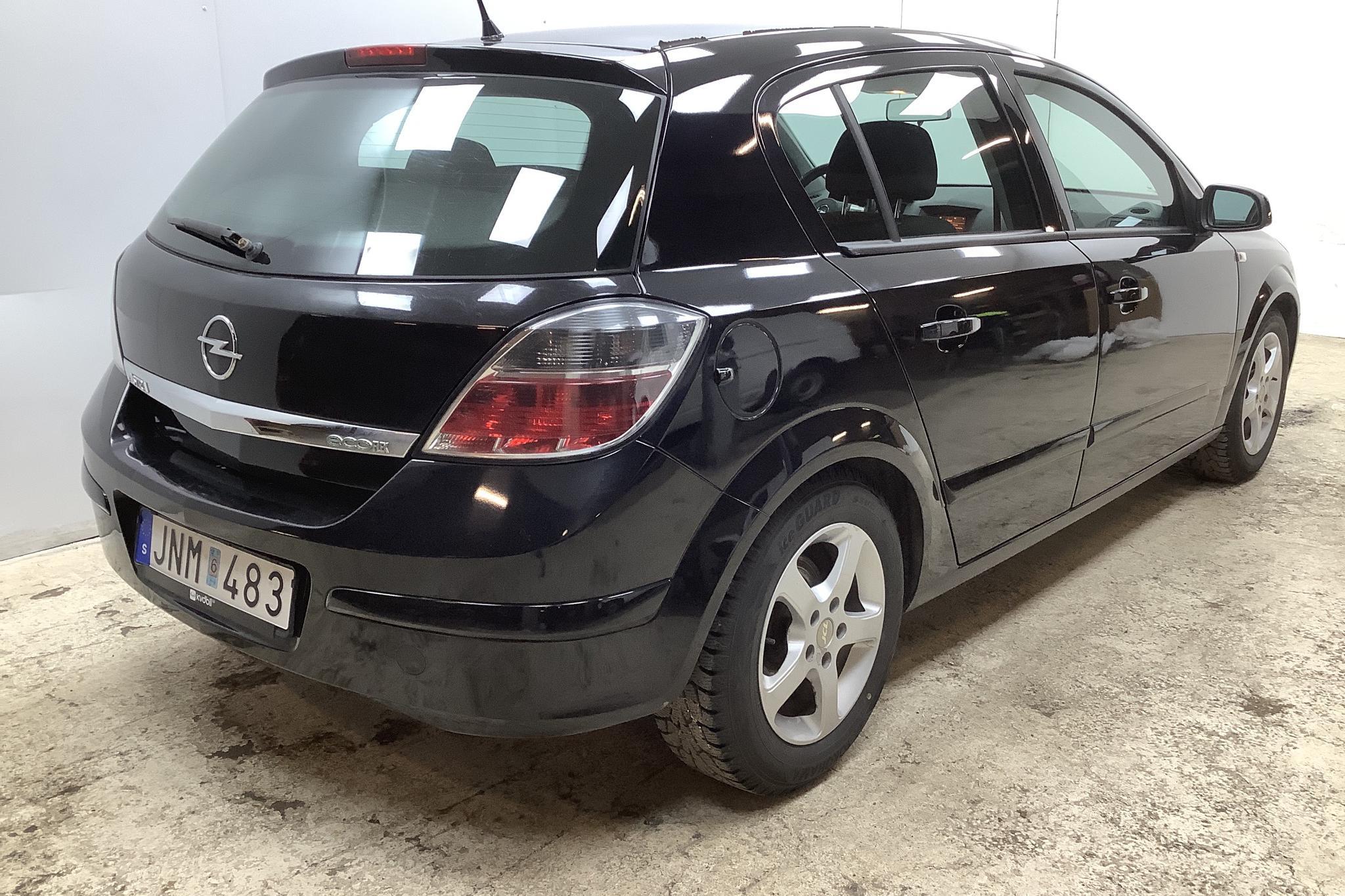 Opel Astra 1.7 CDTI 5dr (110hk) - 8 349 mil - Manuell - svart - 2009