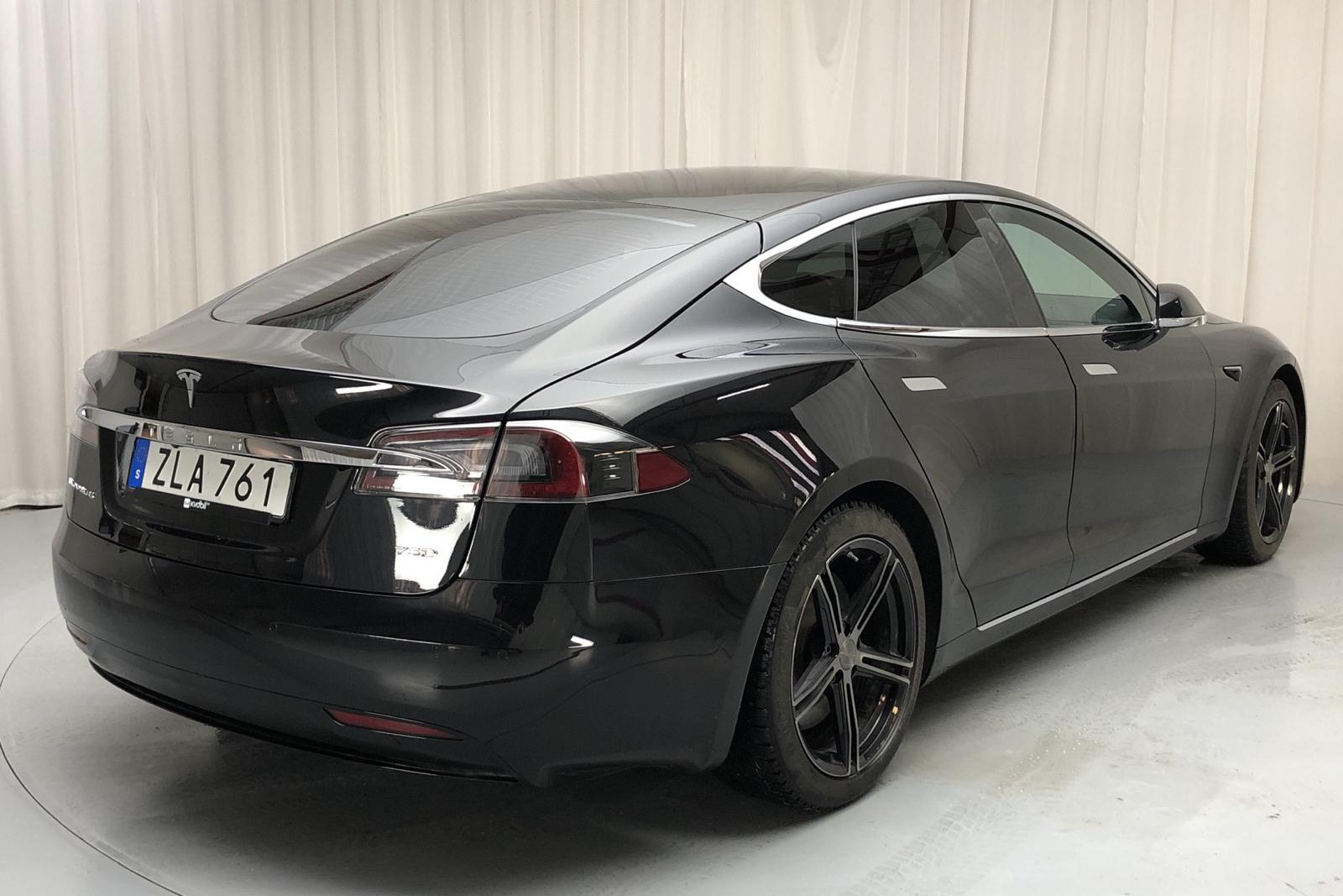 Tesla Model S 75D (525hk) - 47 410 km - Automatic - black - 2018