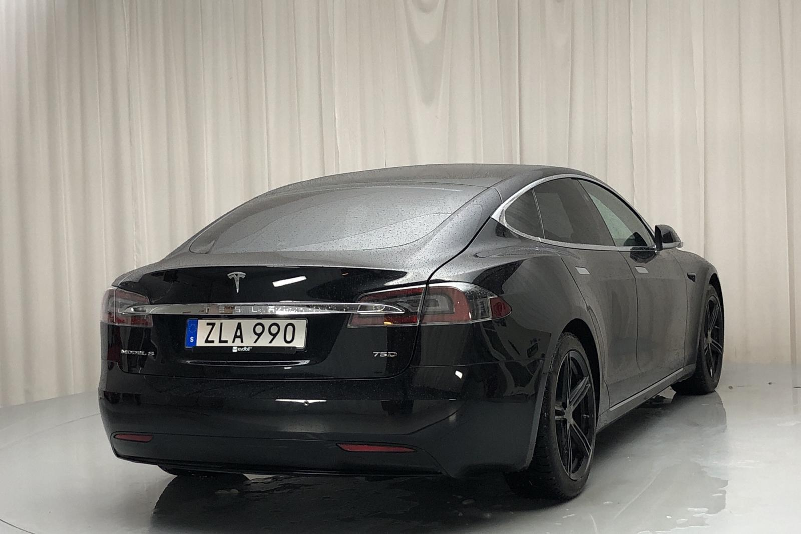 Tesla Model S 75D (525hk) - 49 380 km - Automatic - black - 2018
