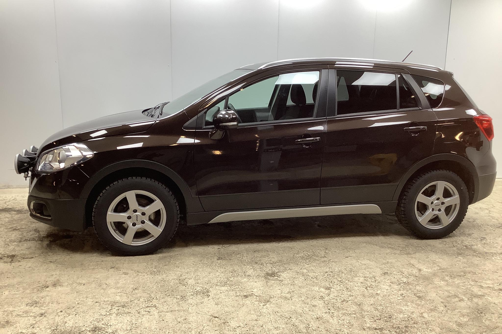 Suzuki S-Cross 1.6D 4x4 (120hk) - 51 570 km - Manual - brown - 2014
