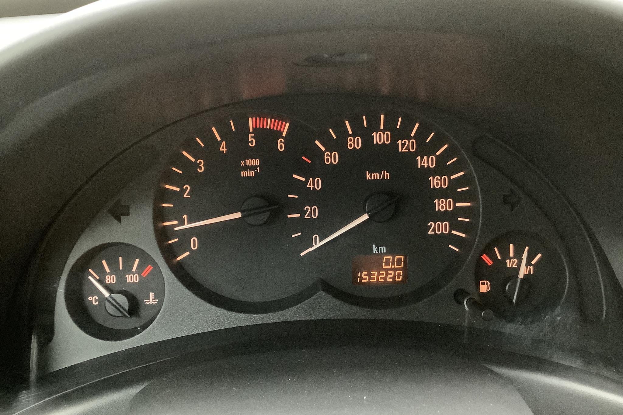 Opel Combo 1.3 CDTI Skåp (75hk) - 153 220 km - Manual - gray - 2008