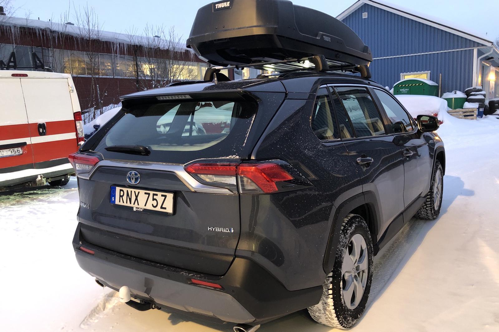 Toyota RAV4 2.5 HSD AWD (222hk) - 52 220 km - Automatic - Dark Grey - 2019