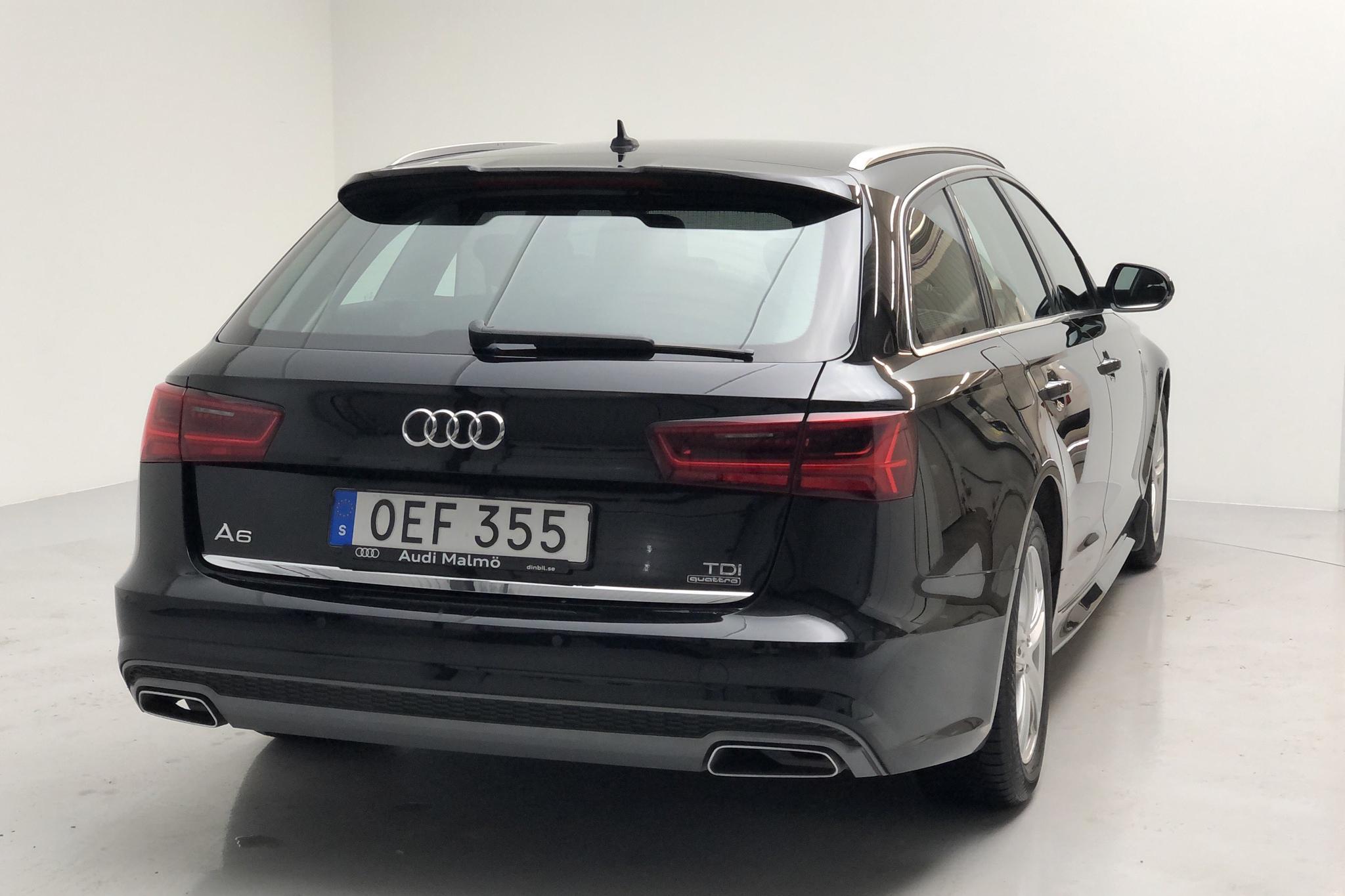 Audi A6 2.0 TDI Avant quattro (190hk) - 13 509 mil - Automat - svart - 2017