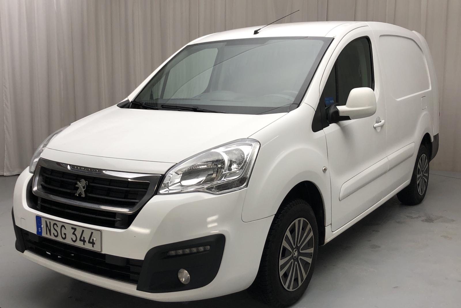 Peugeot Partner 1.6 BlueHDI Skåp (100hk) - 164 710 km - Manual - white - 2016
