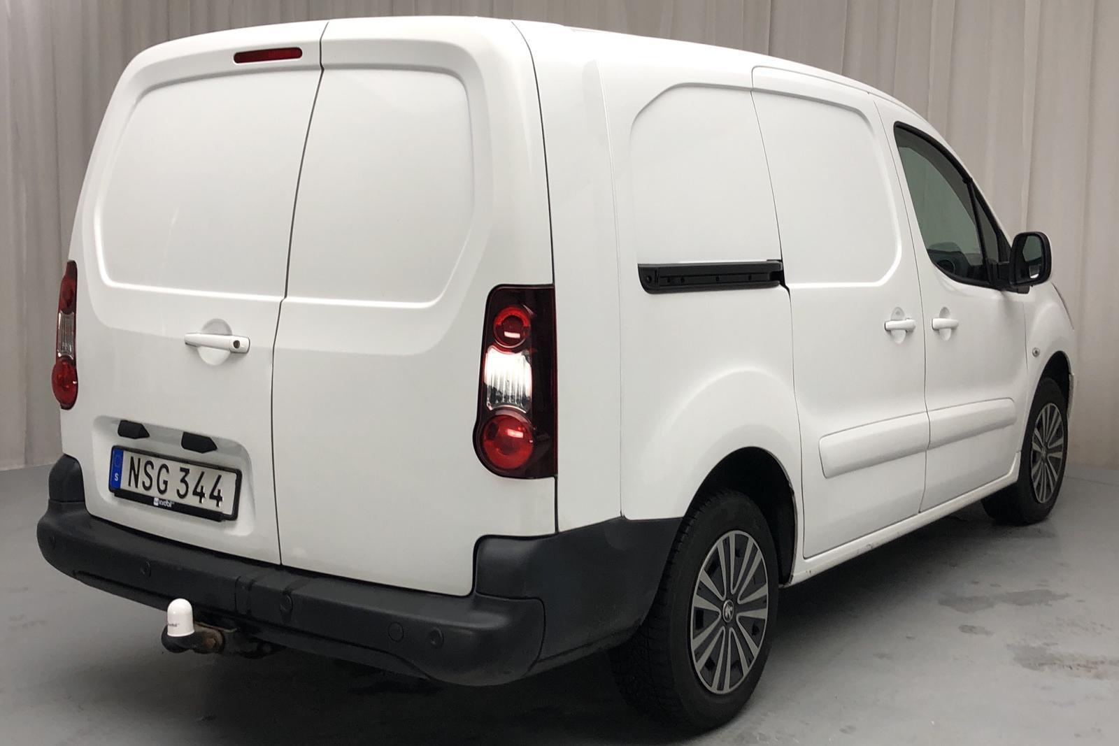 Peugeot Partner 1.6 BlueHDI Skåp (100hk) - 16 471 mil - Manuell - vit - 2016