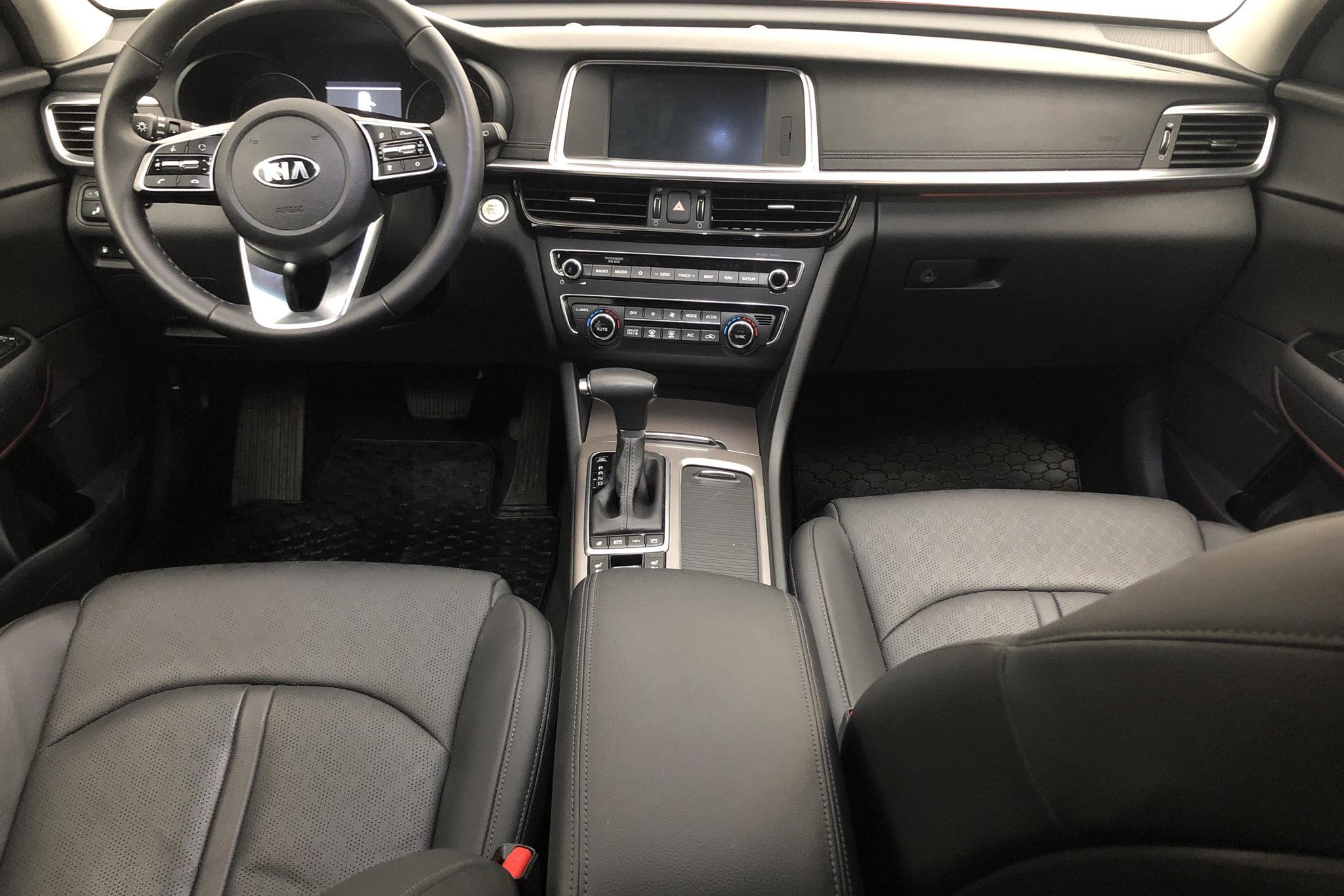 KIA Optima 2.0 GDi Plug-in Hybrid SW (205hk) - 13 470 km - Automatic - red - 2019