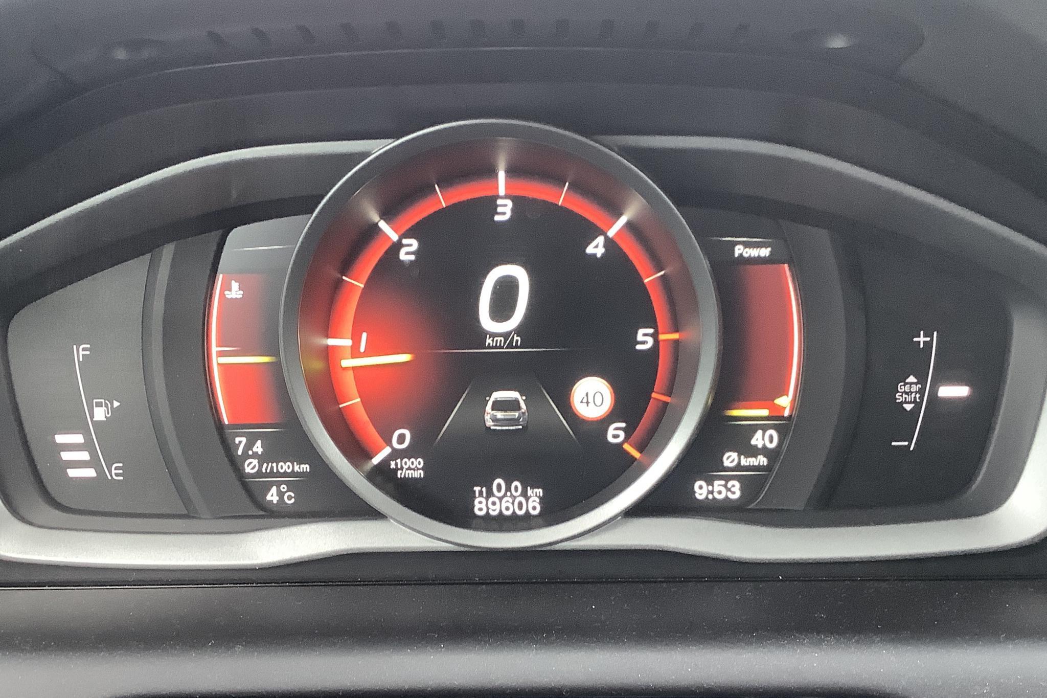 Volvo XC60 D4 2WD (190hk) - 8 960 mil - Manuell - svart - 2017
