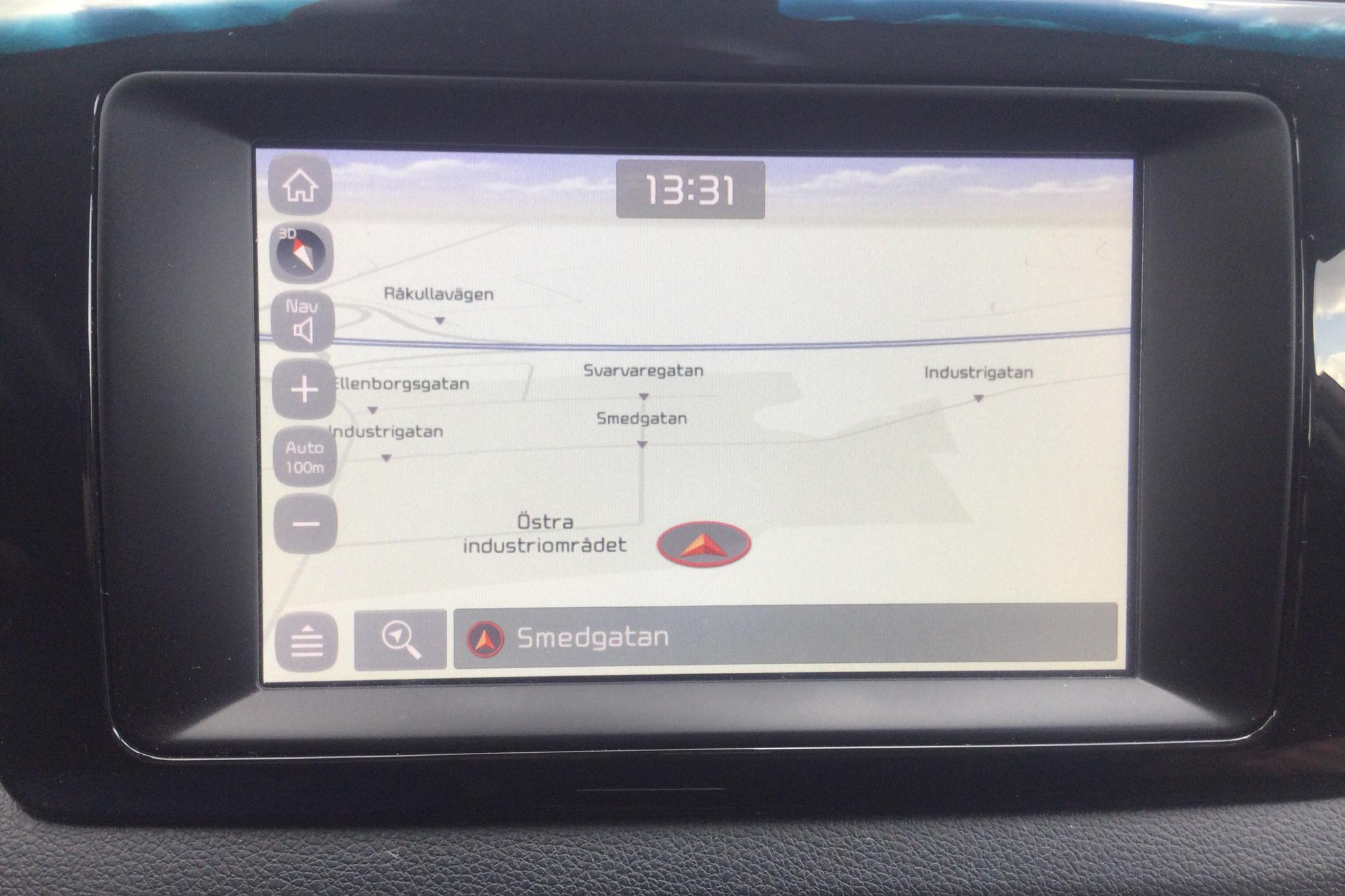 KIA Niro EV 64 kWh (204hk) - 1 324 mil - Automat - röd - 2019