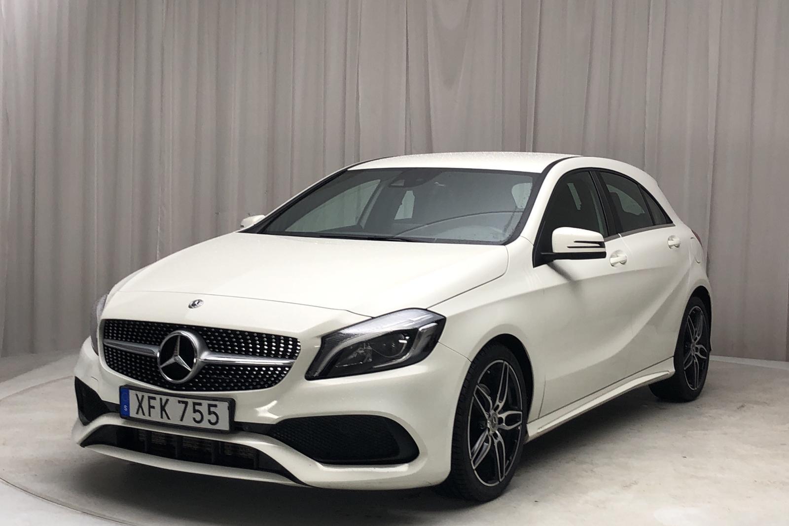 Mercedes A 180 5dr W176 (122hk) - 9 418 mil - Manuell - vit - 2018