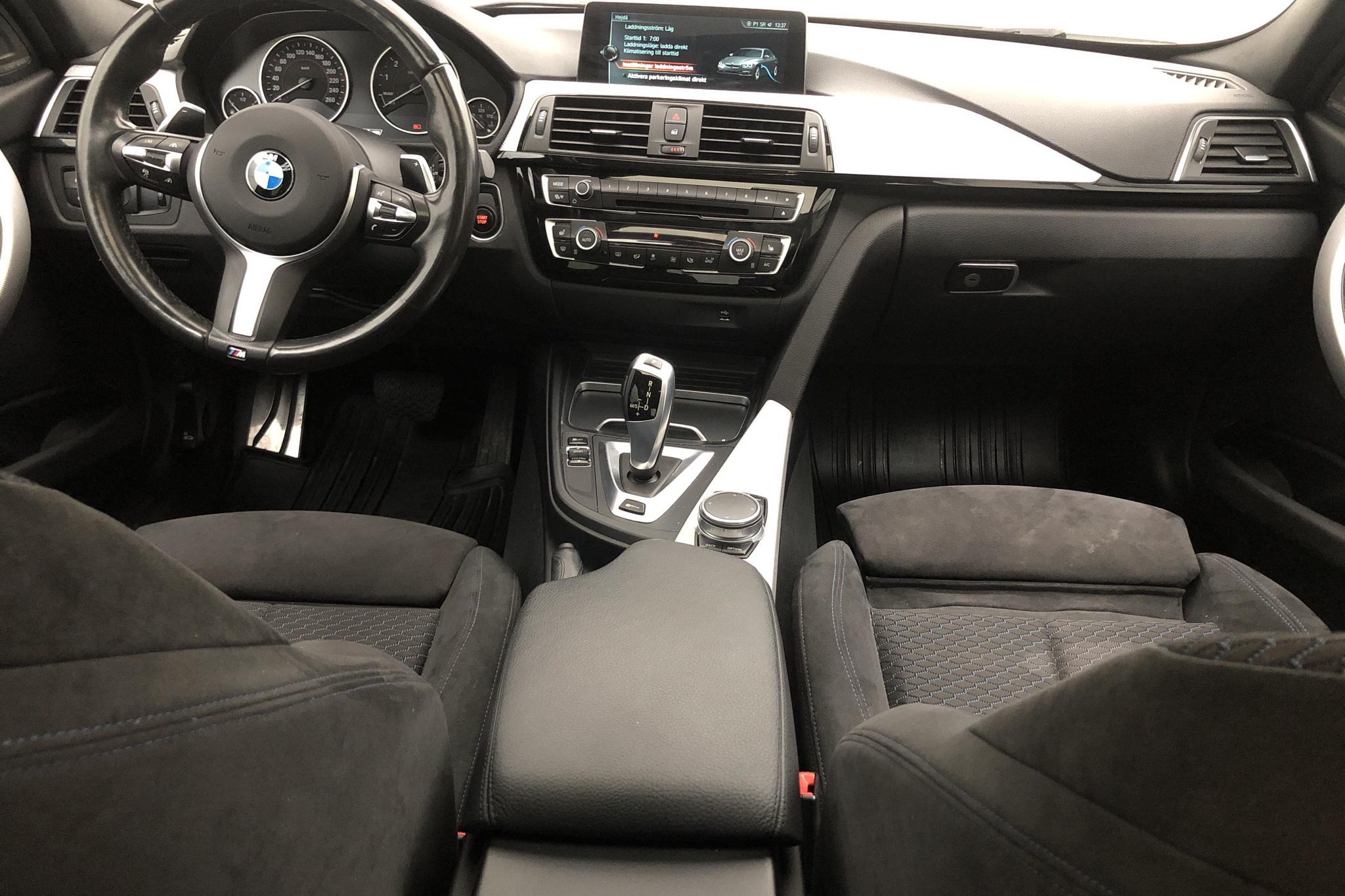 BMW 330e Sedan, F30 (252hk) - 58 830 km - Automatic - white - 2017