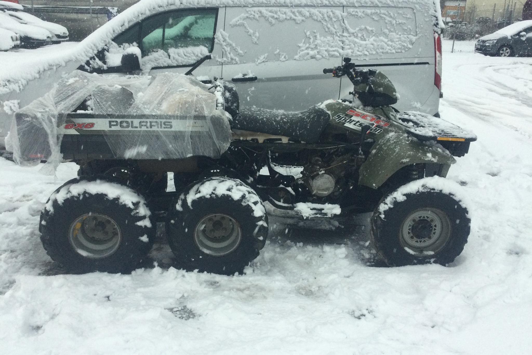 POLARIS Sportsman 500 6X6 ATV Reservdelsenhet - 0 km - Automatic - green - 2003