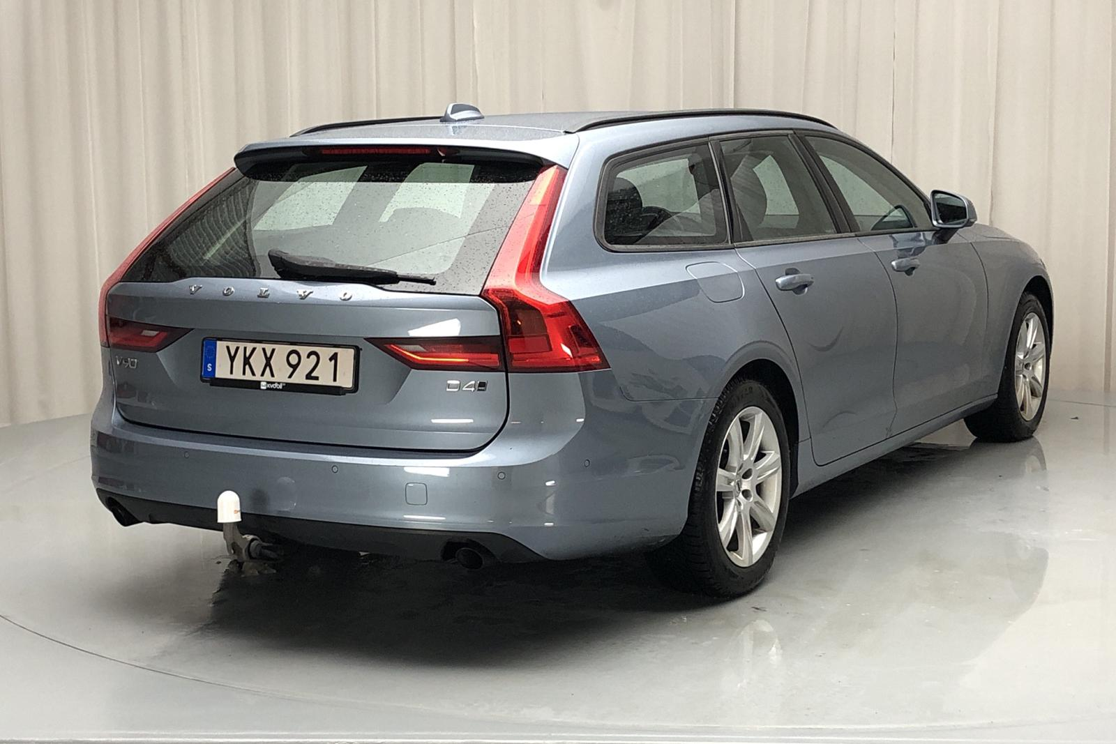 Volvo V90 D4 AWD (190hk) - 15 401 mil - Automat - Light Blue - 2017