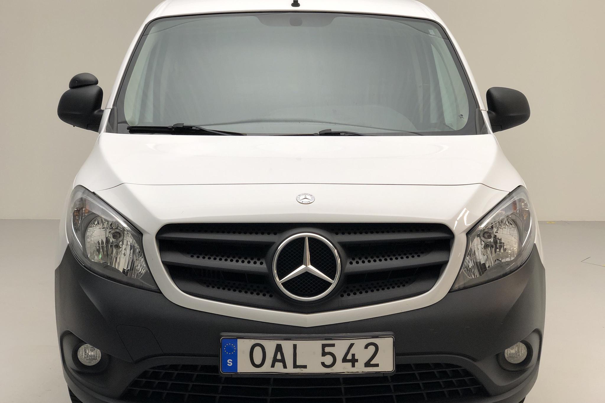 Mercedes Citan 109 1.5 CDI (90hk) - 5 190 mil - Manuell - vit - 2016
