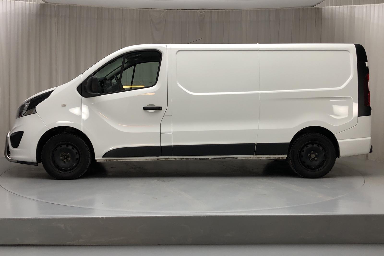 Opel Vivaro 1.6 BITURBO (125hk) - 5 146 mil - Manuell - vit - 2018