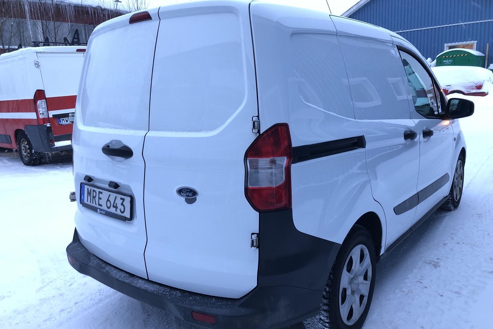 Ford Transit Courier 1.5 TDCI (75hk) - 130 100 km - Manual - white - 2017