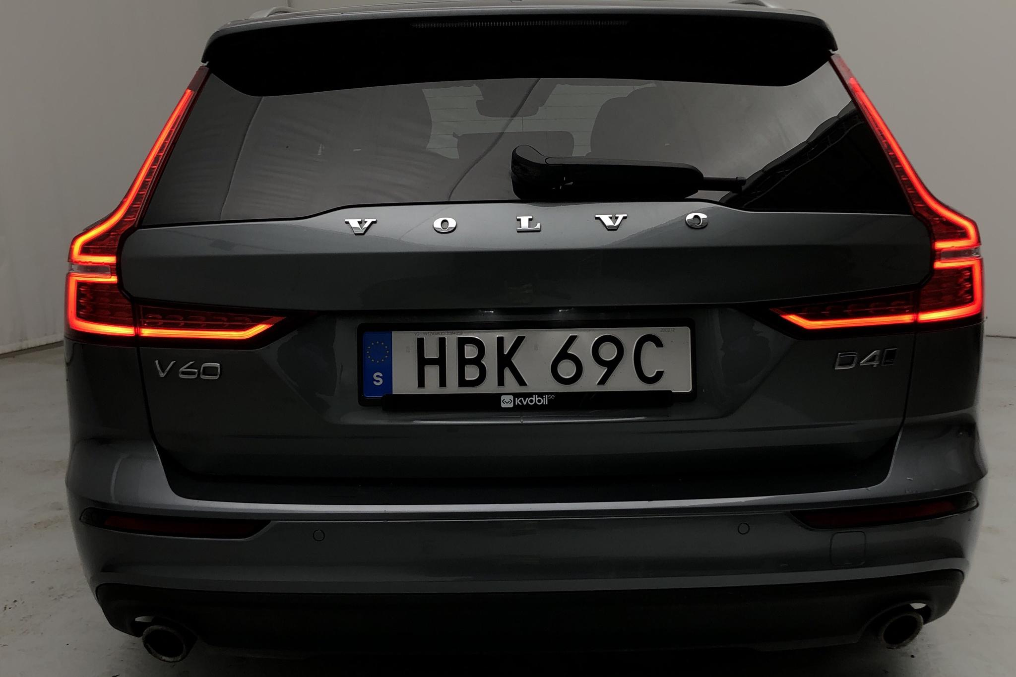 Volvo V60 D4 AWD (190hk) - 33 850 km - Automatic - gray - 2020