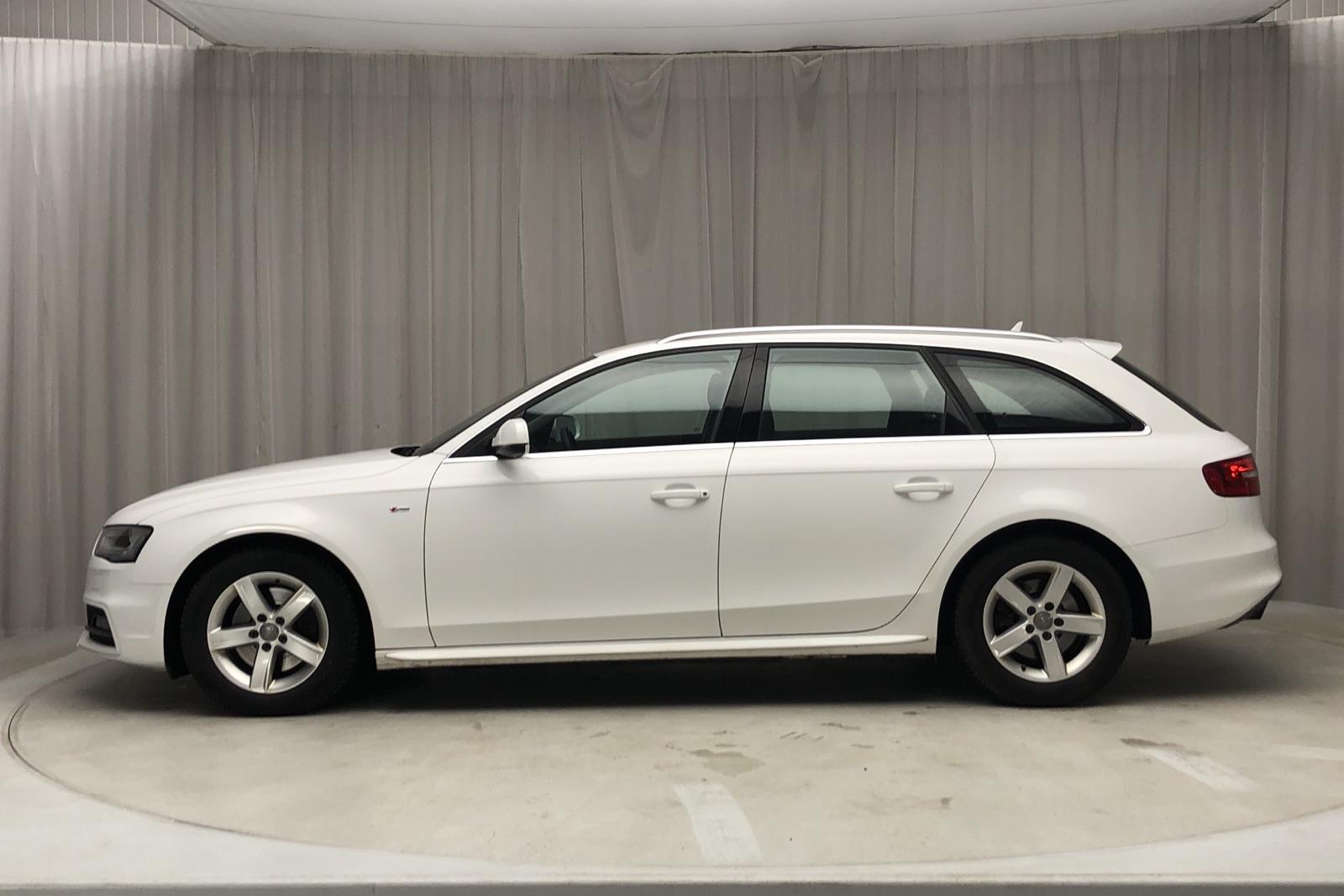 Audi A4 2.0 TDI clean diesel Avant quattro (190hk) - 10 412 mil - Automat - vit - 2015
