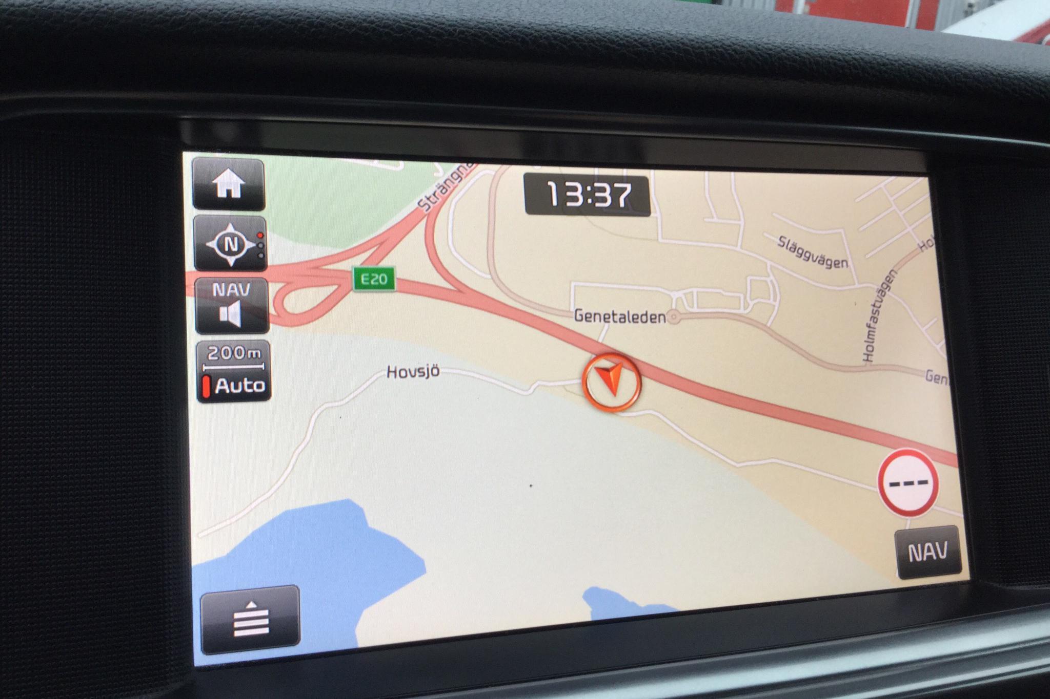 KIA Optima 1.7 CRDi SW (141hk) - 98 260 km - Automatic - red - 2017