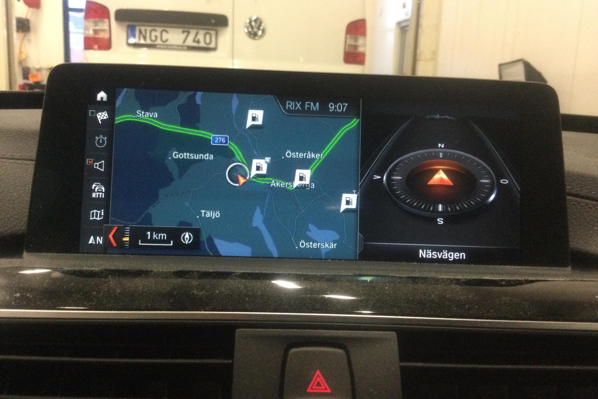 BMW 320d GT xDrive, F34 (190hk) - 35 470 km - Manual - black - 2018