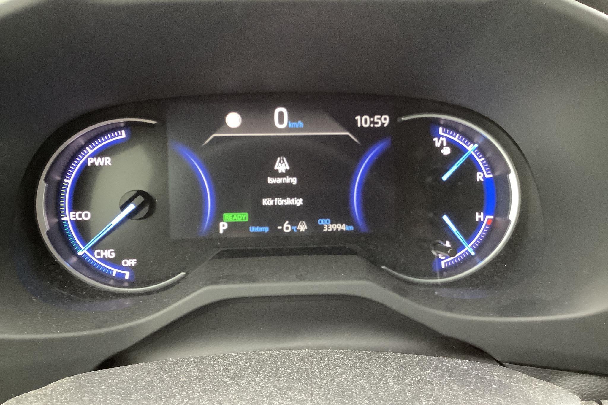 Toyota RAV4 2.5 HSD AWD (222hk) - 3 399 mil - Automat - grå - 2019