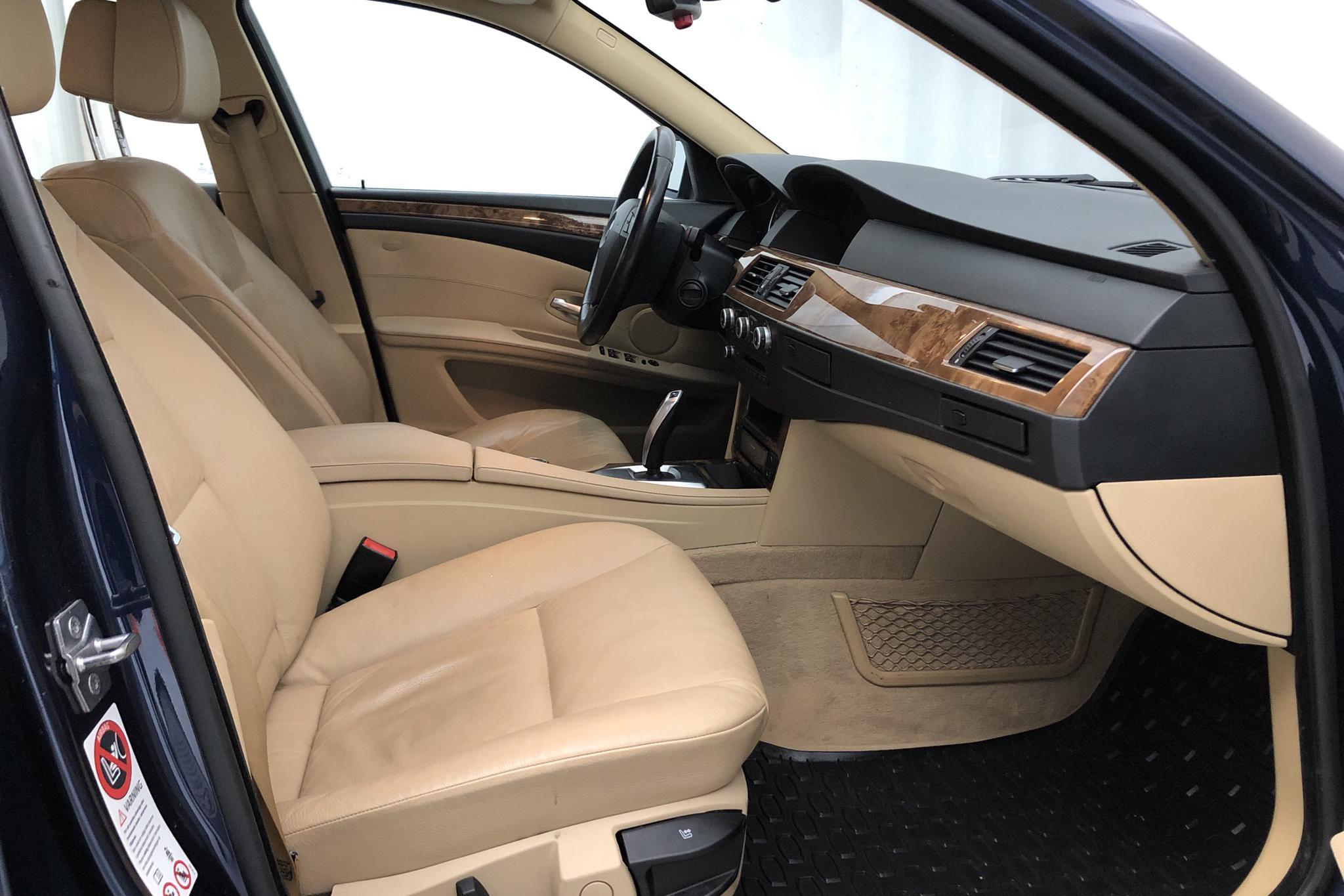 BMW 520d Sedan, E60 (177hk) - 93 480 km - Automatic - blue - 2009