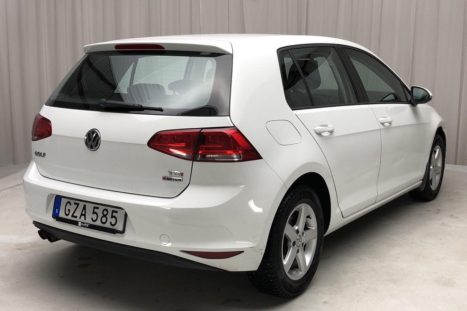 VW Golf VII 1.6 TDI BlueMotion 5dr 4Motion (110hk) - 111 840 km - Manual - white - 2016