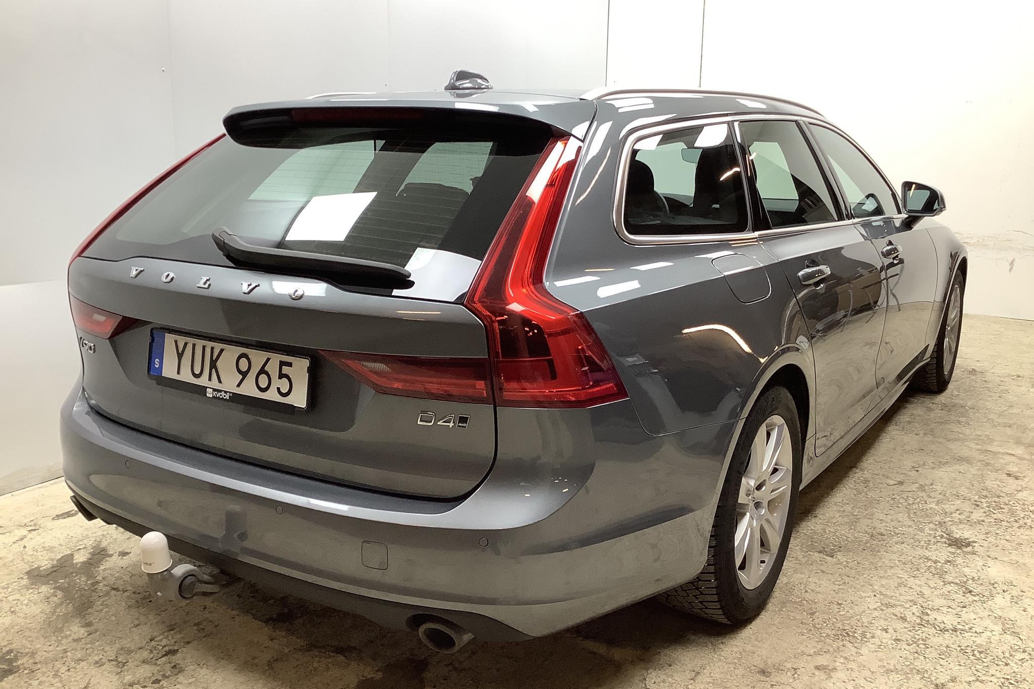 Volvo V90 D4 AWD (190hk) - 4 786 mil - Automat - grå - 2019