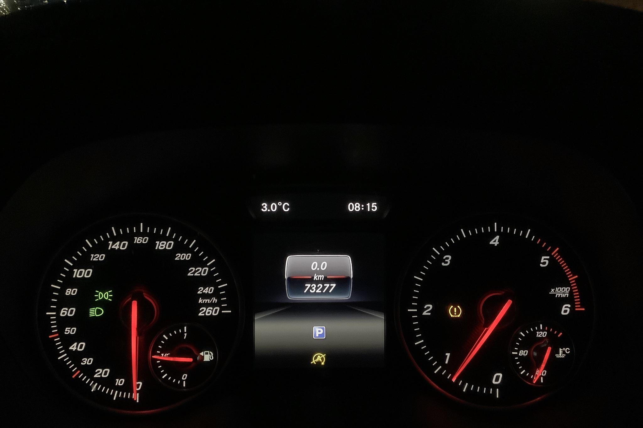Mercedes B 200 d W246 (136hk) - 7 327 mil - Manuell - röd - 2017