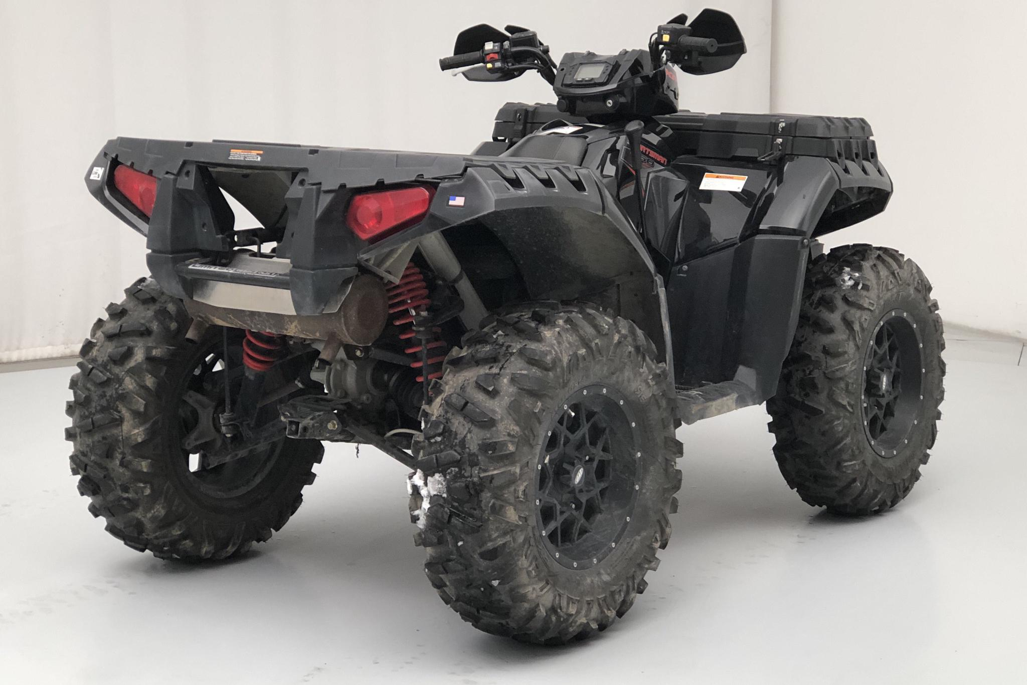POLARIS SPORTSMAN XPS 850 EFI LIMITED EDITION ATV - 6 650 km - Automatic - black - 2011