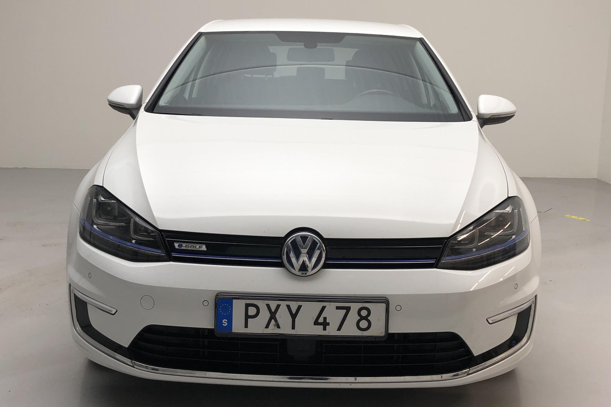 VW e-Golf VII 5dr (115hk) - 42 180 km - Automatic - white - 2015