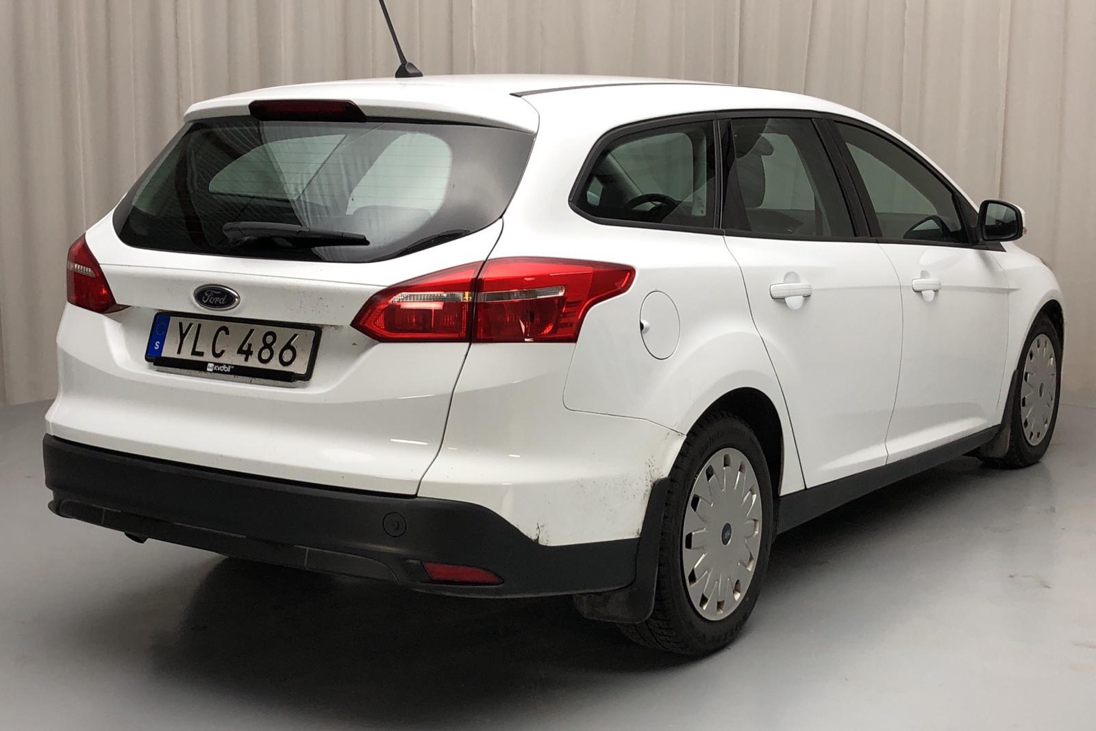Ford Focus 1.5 TDCi ECOnetic Kombi (105hk) - 72 200 km - Manual - white - 2017