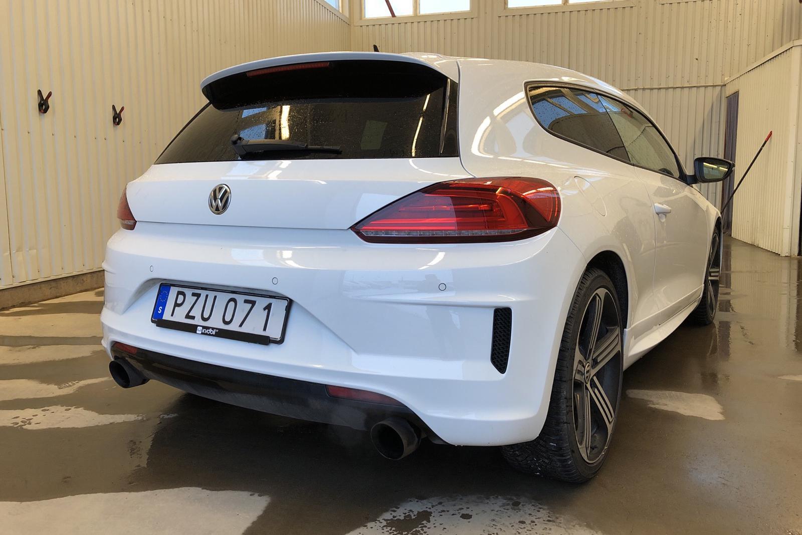 VW Scirocco R (280hk) - 93 620 km - Automatic - white - 2016
