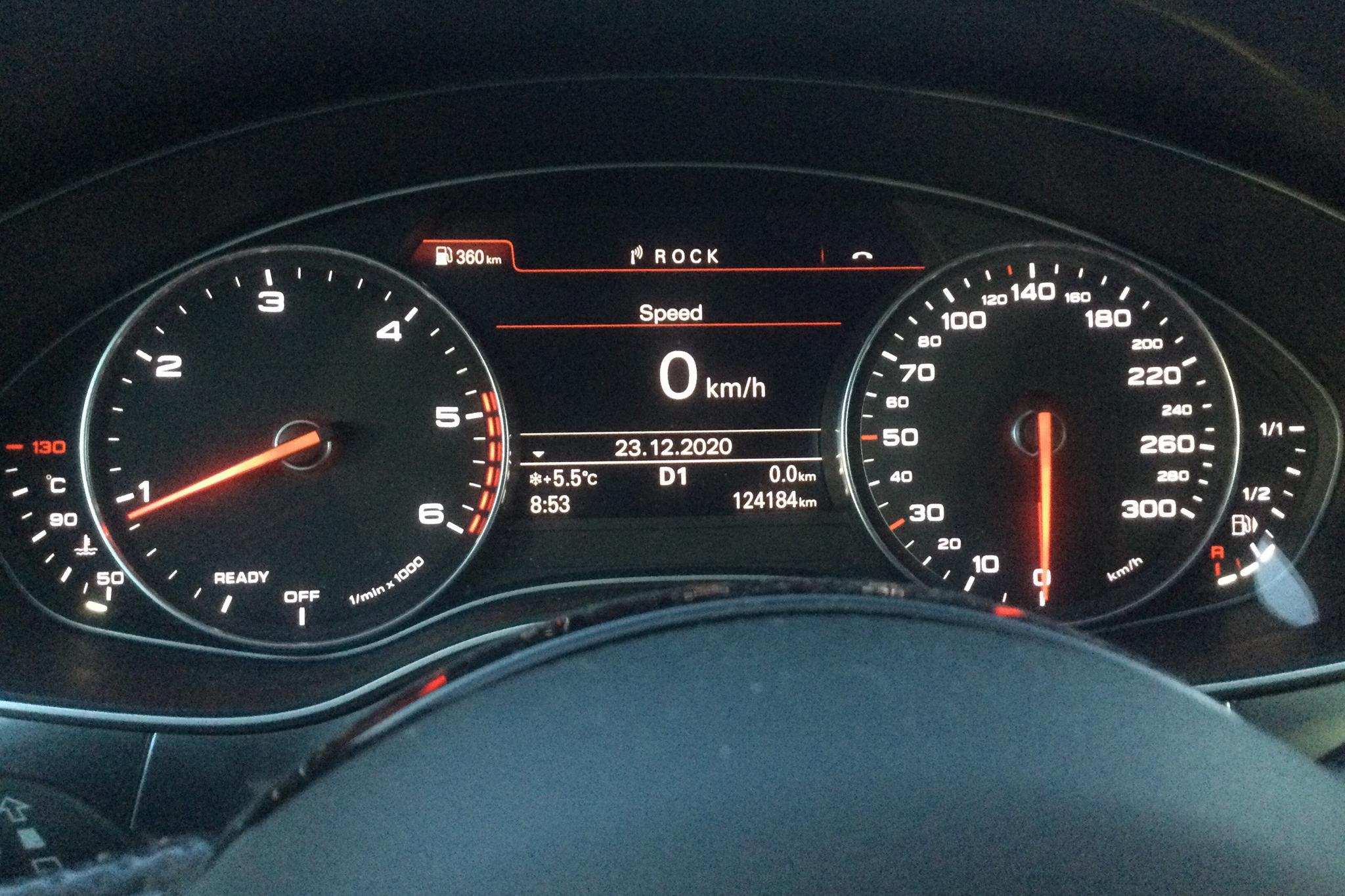 Audi A6 2.0 TDI Avant (190hk) - 124 180 km - Automatic - white - 2018